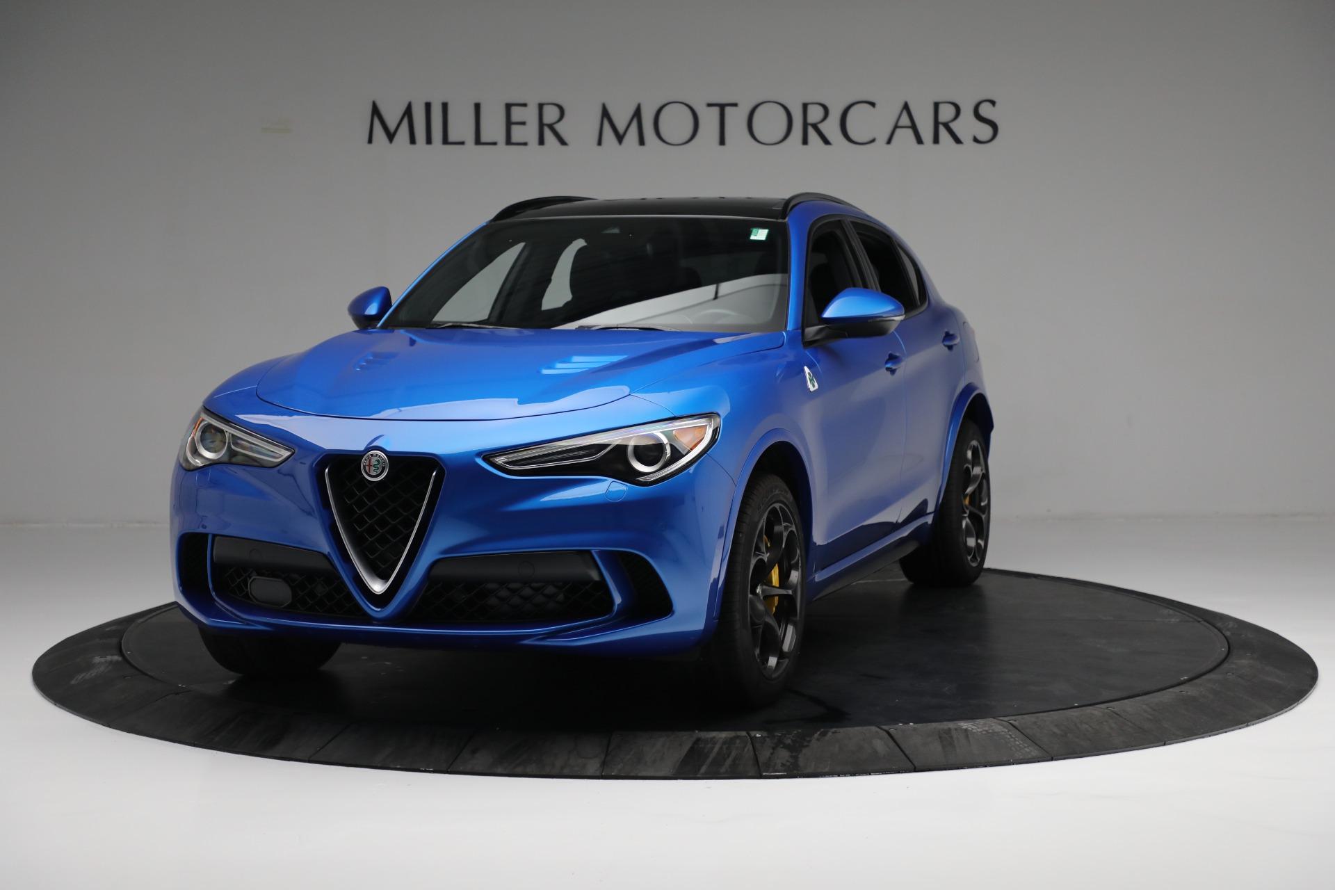 2019 Alfa Romeo Stelvio Quadrifoglio Q4 Stock L557 For Sale Near