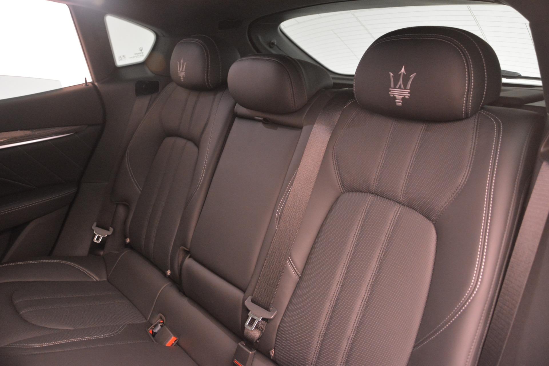 New 2019 Maserati Levante SQ4 GranSport Nerissimo   Greenwich, CT