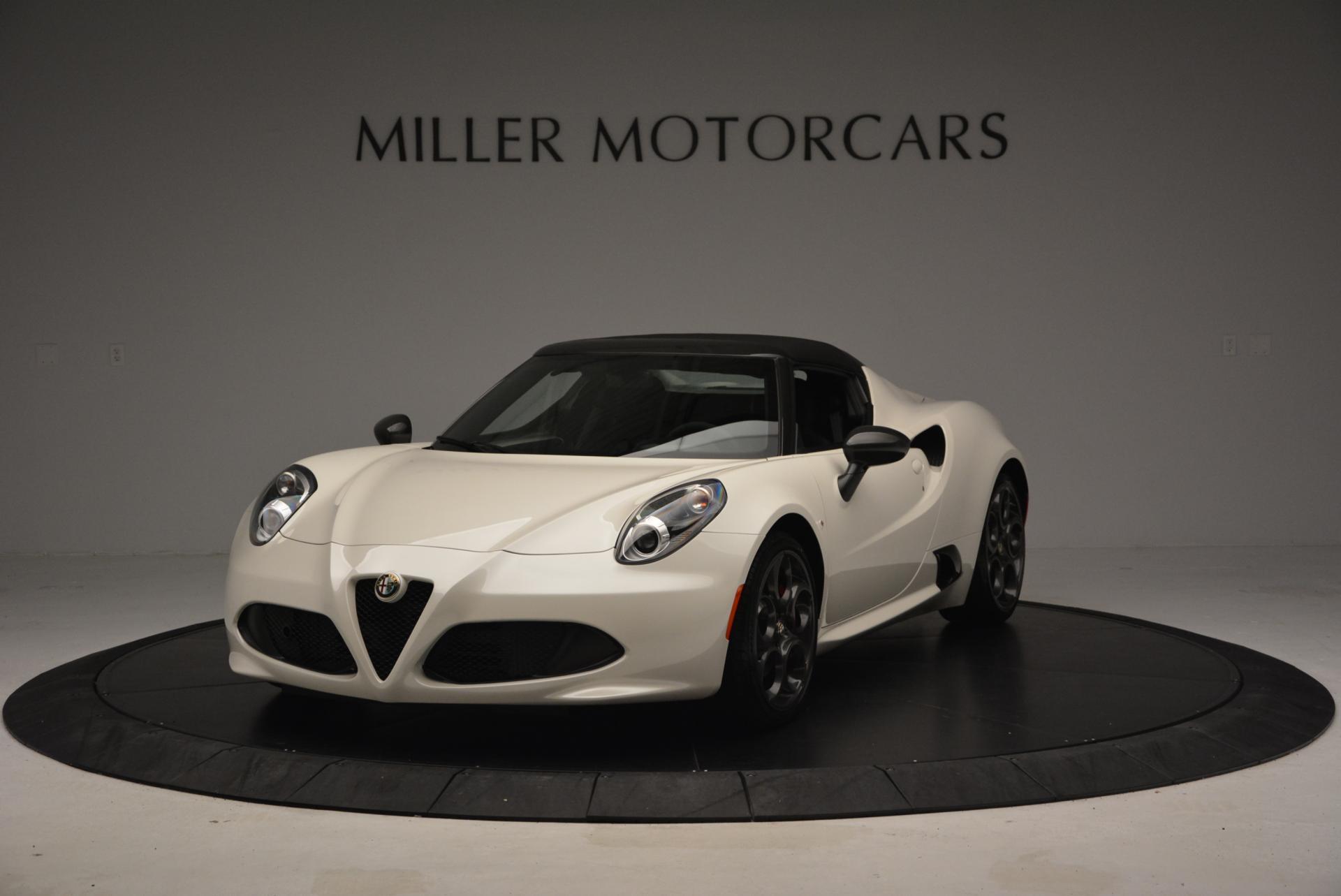 New 2015 Alfa Romeo 4C Spider