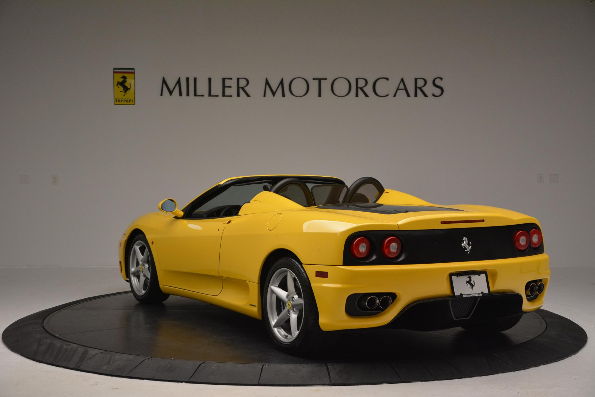 Used 2003 Ferrari 360 Spider 6 Speed Manual