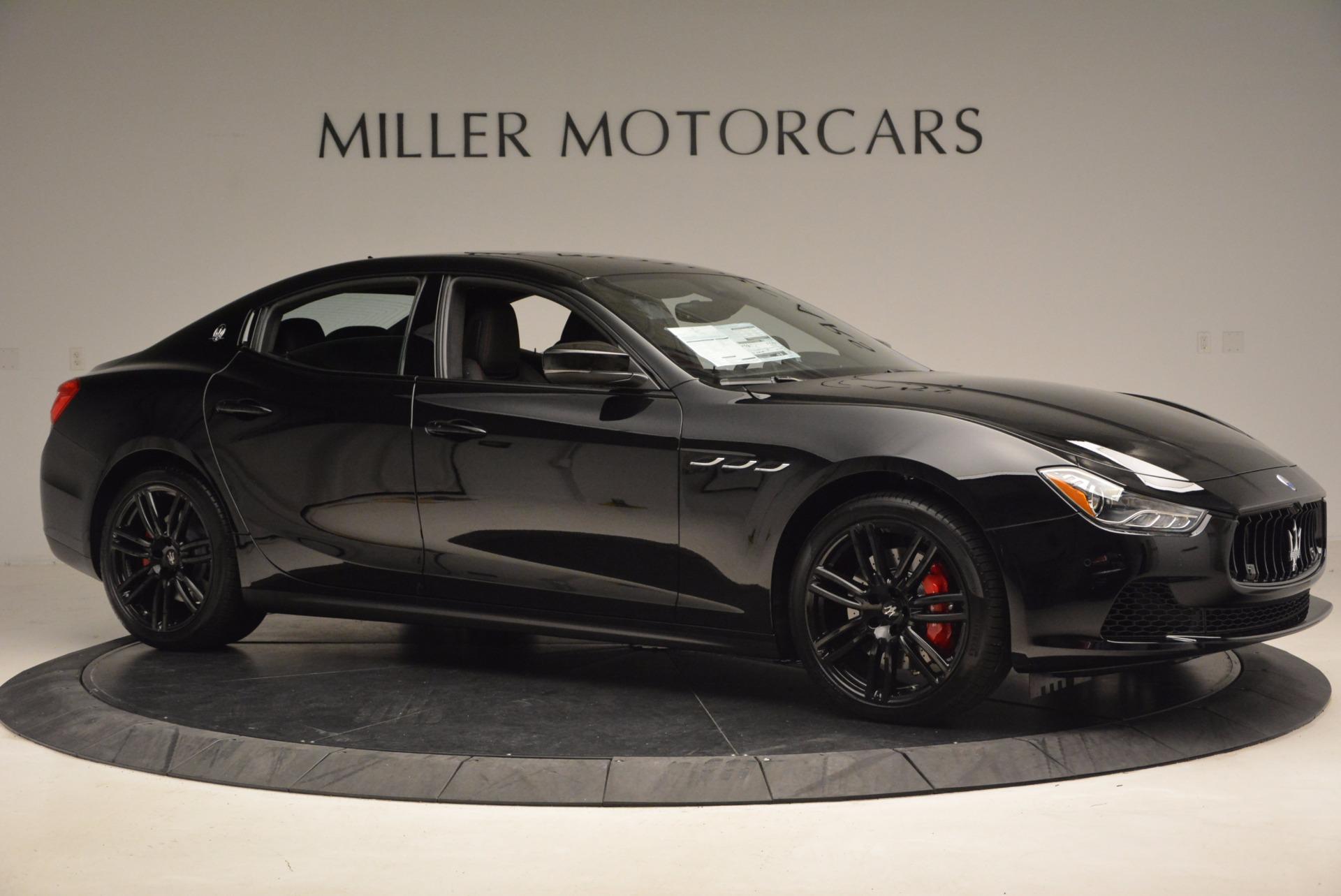 New 2017 Maserati Ghibli SQ4 S Q4 Nerissimo Edition