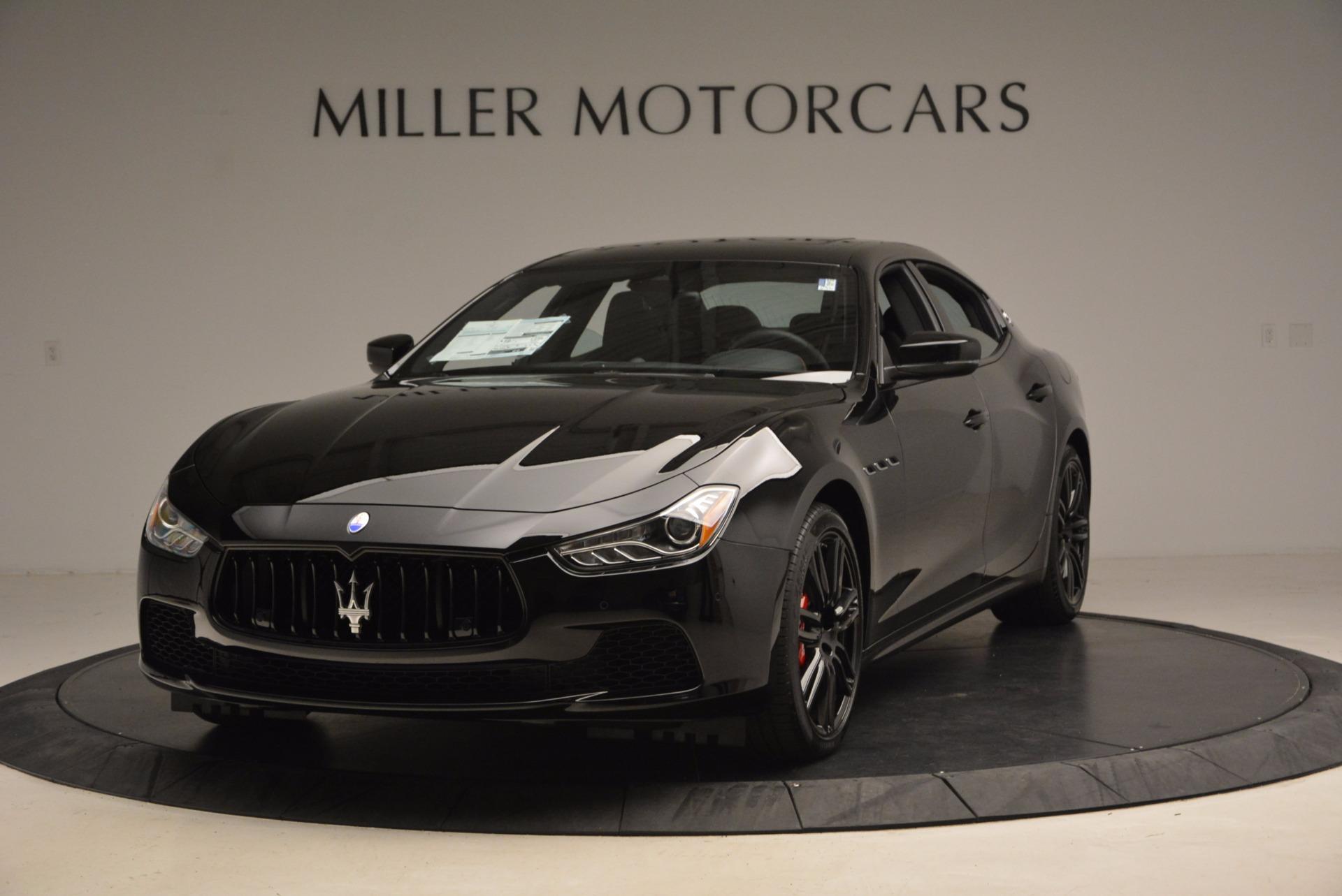 New 2017 Maserati Ghibli SQ4 S Q4 Nerissimo Edition   Greenwich, CT