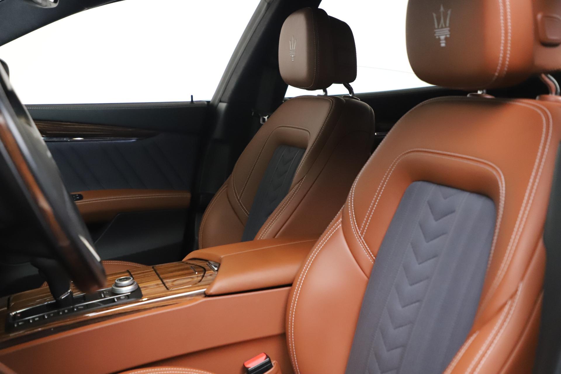 Used 2017 Maserati Quattroporte SQ4 GranLusso Zegna