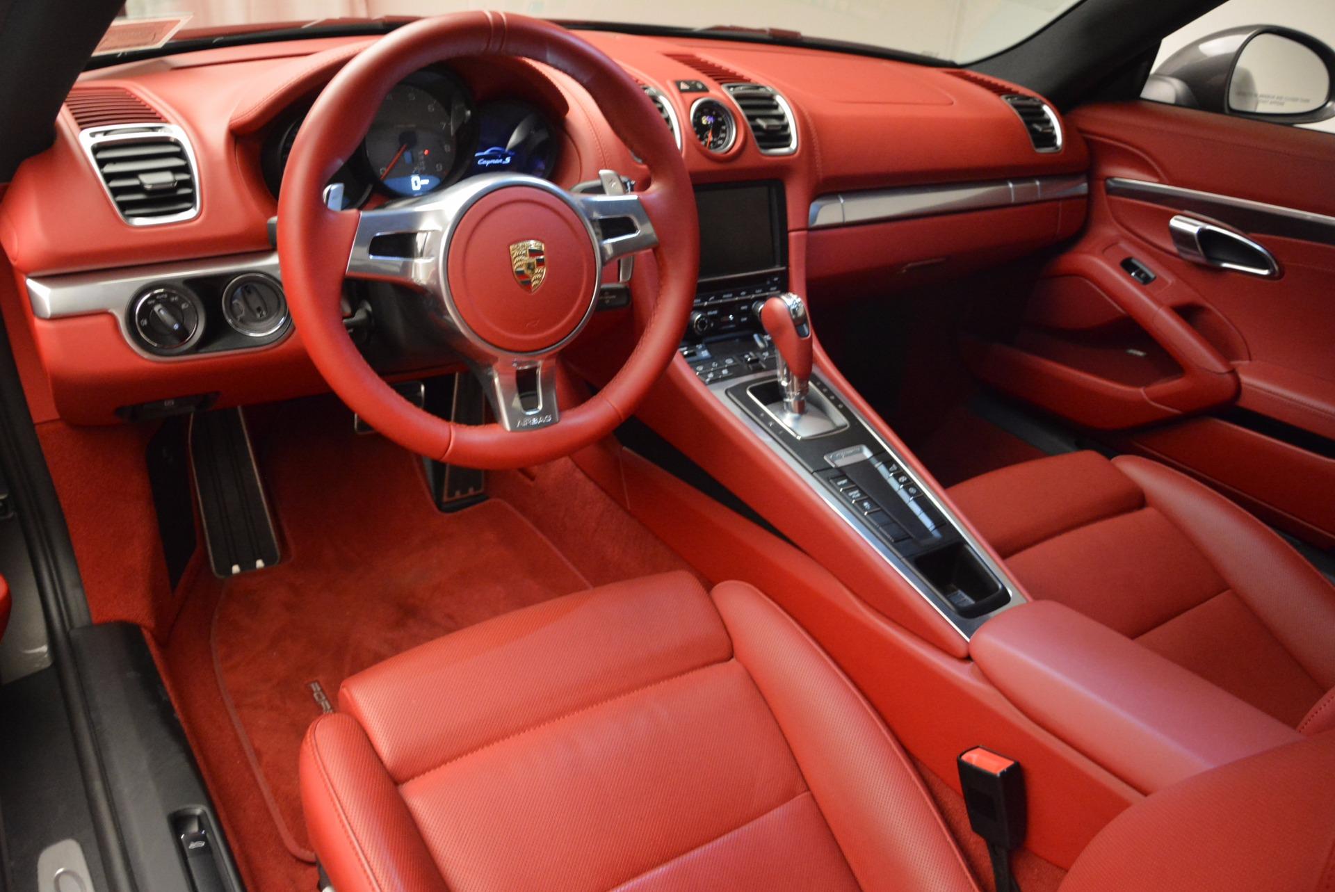 Used 2014 Porsche Cayman S S