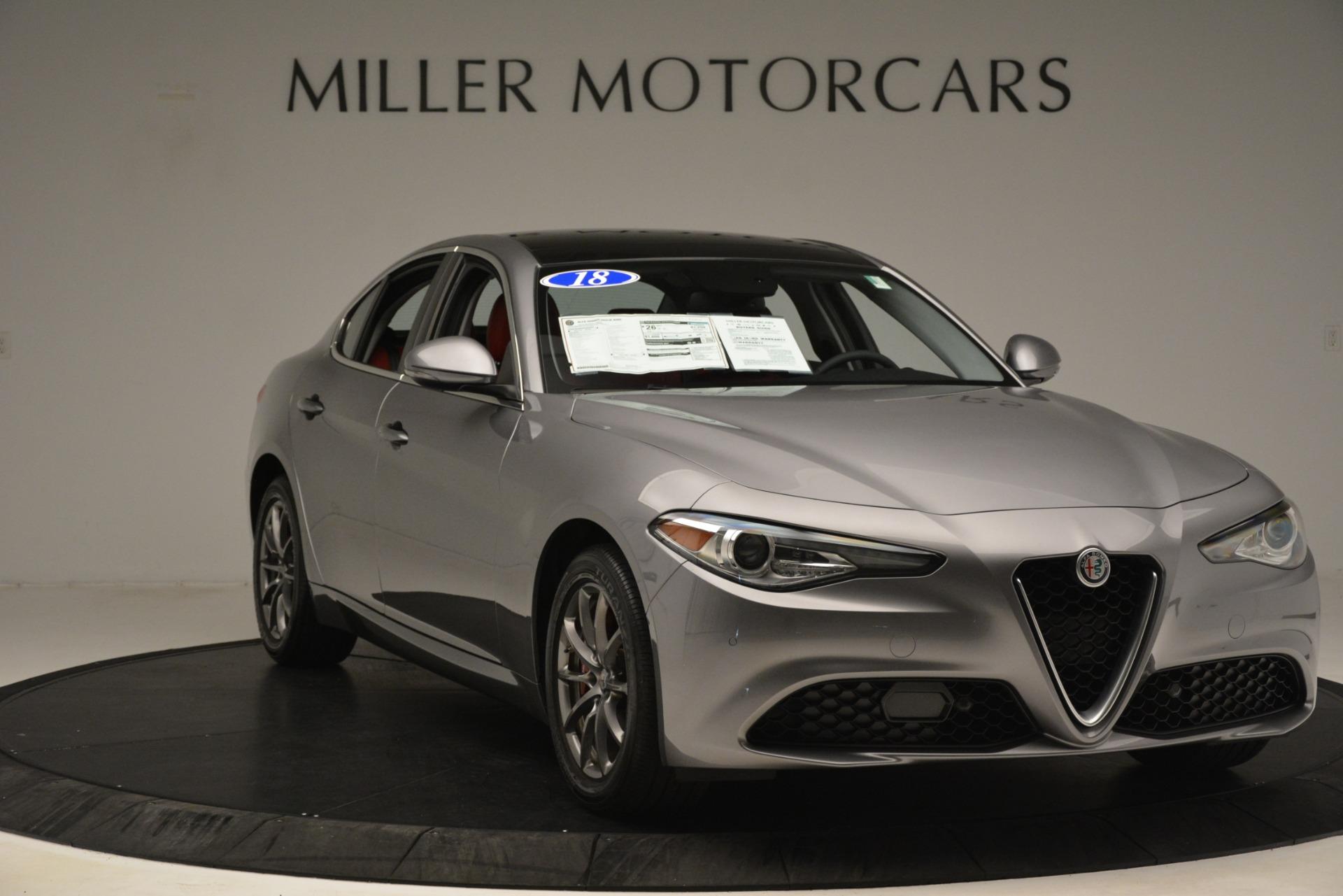 Used 2018 Alfa Romeo Giulia Q4