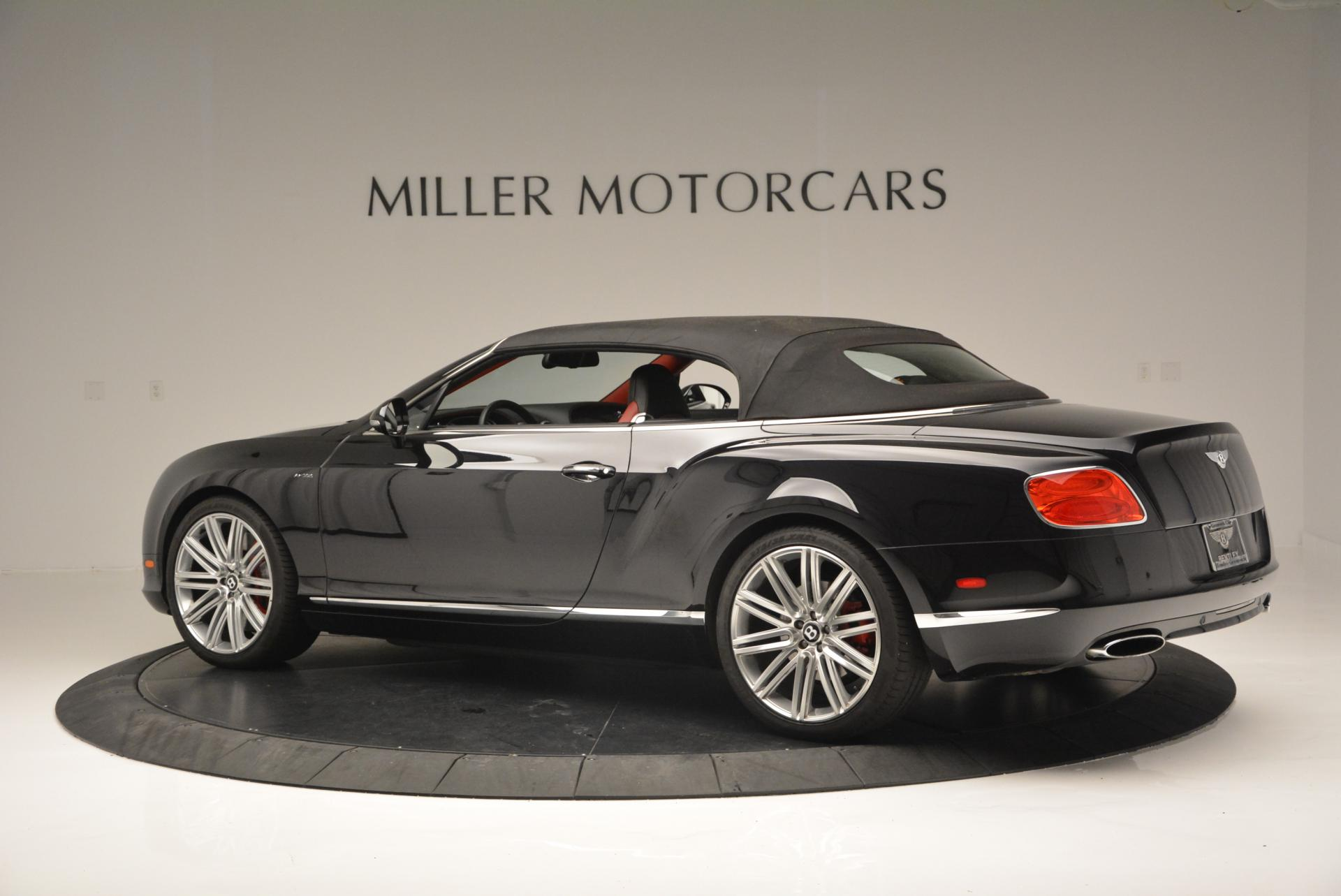Used 2014 Bentley Continental GT Speed Convertible
