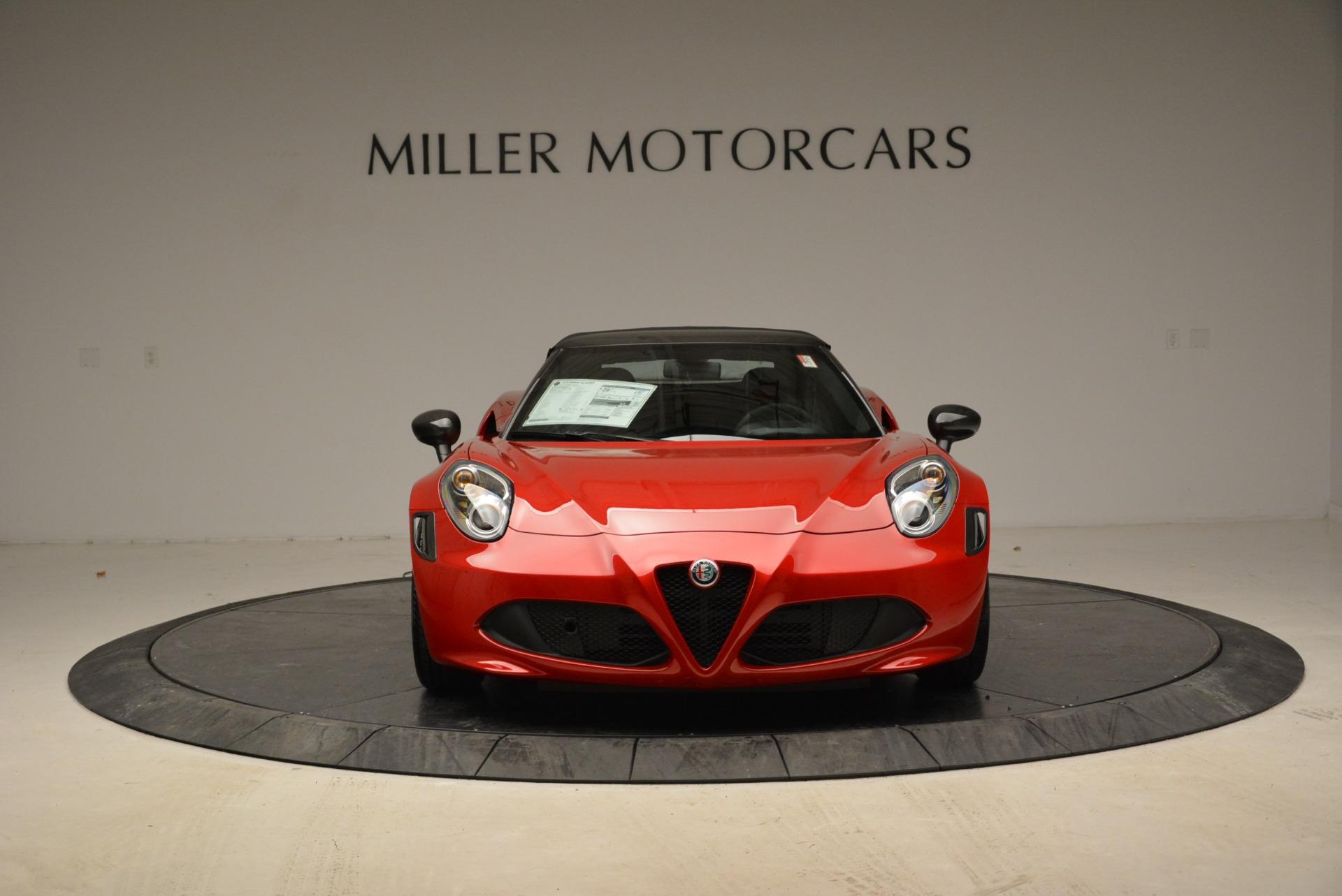 New 2018 Alfa Romeo 4C Spider