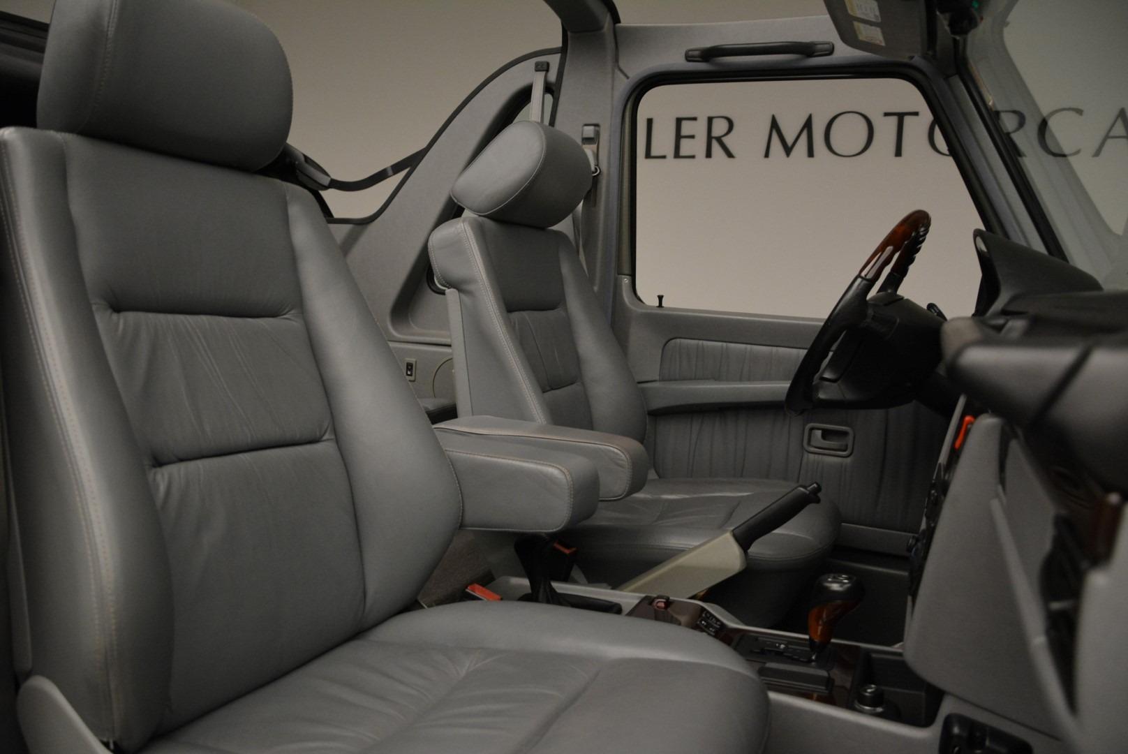 Used 1999 Mercedes Benz G500 Cabriolet