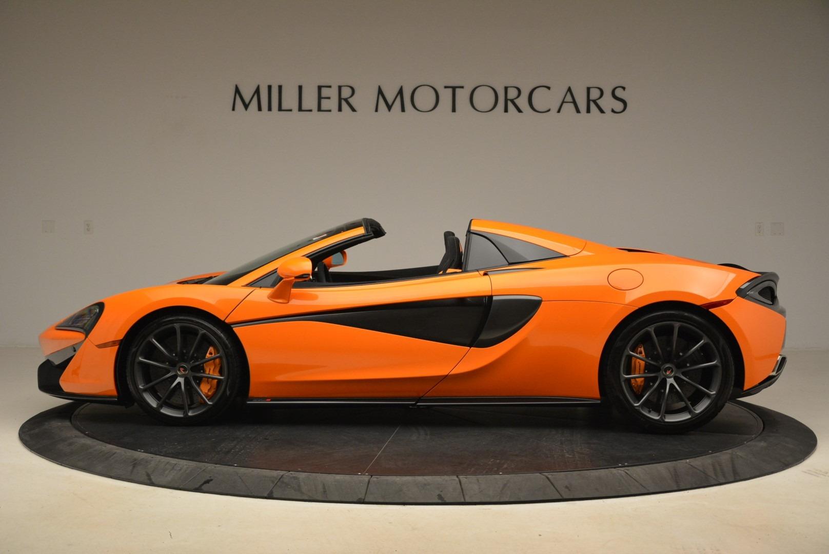 Used 2018 McLaren 570S Spider Convertible