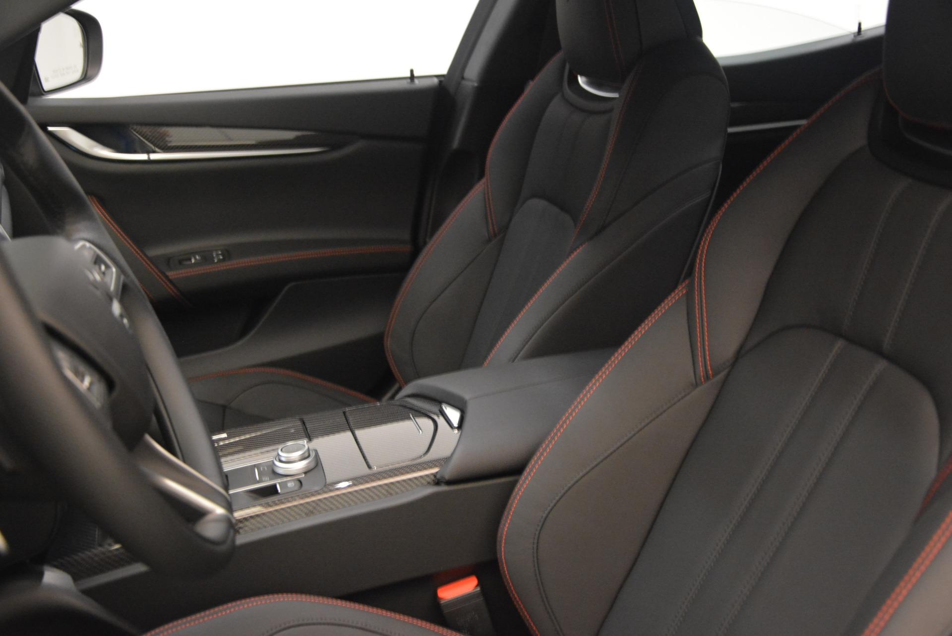 New 2018 Maserati Ghibli SQ4 GranSport Nerissimo