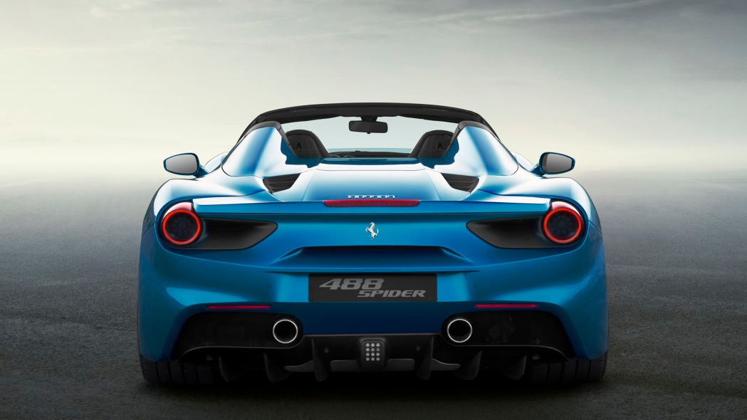 New 2019 Ferrari 488 Spider