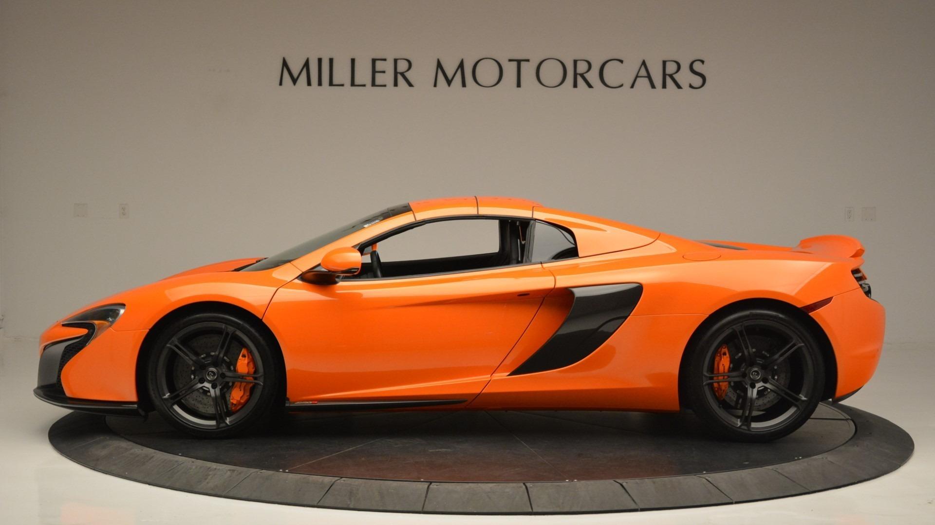 Used 2015 McLaren 650S Spider Convertible