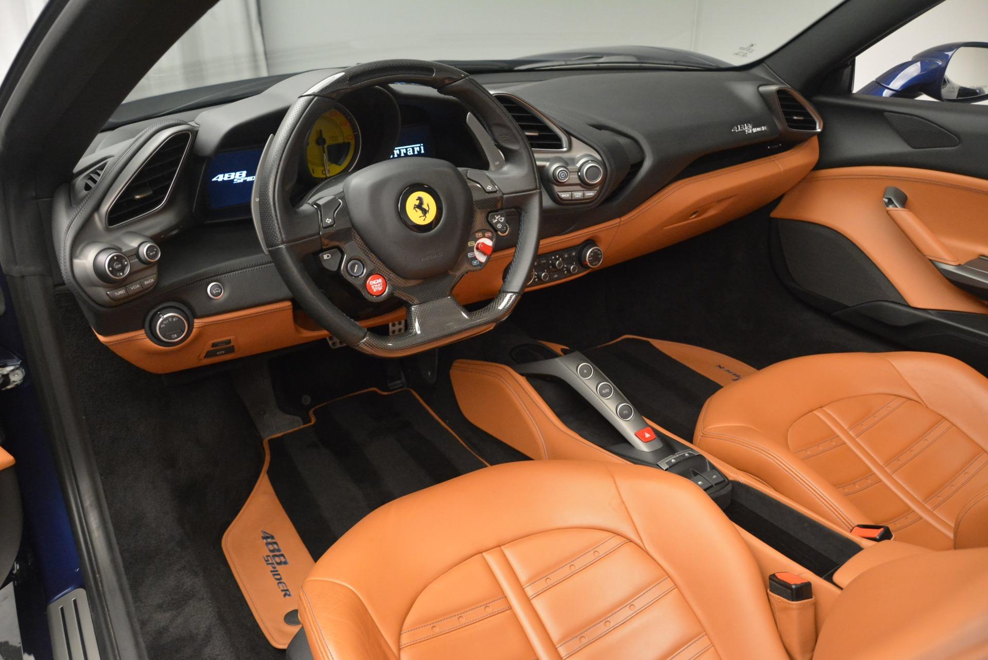 Used 2016 Ferrari 488 Spider
