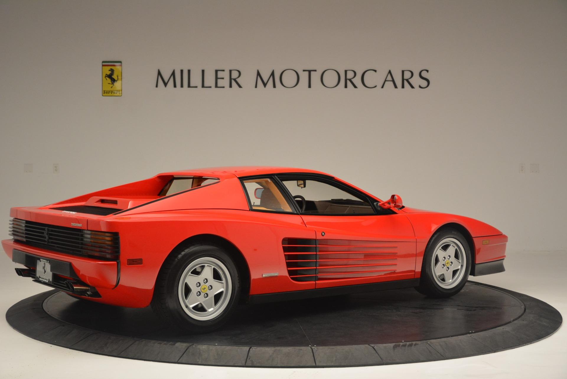 Used 1990 Ferrari Testarossa