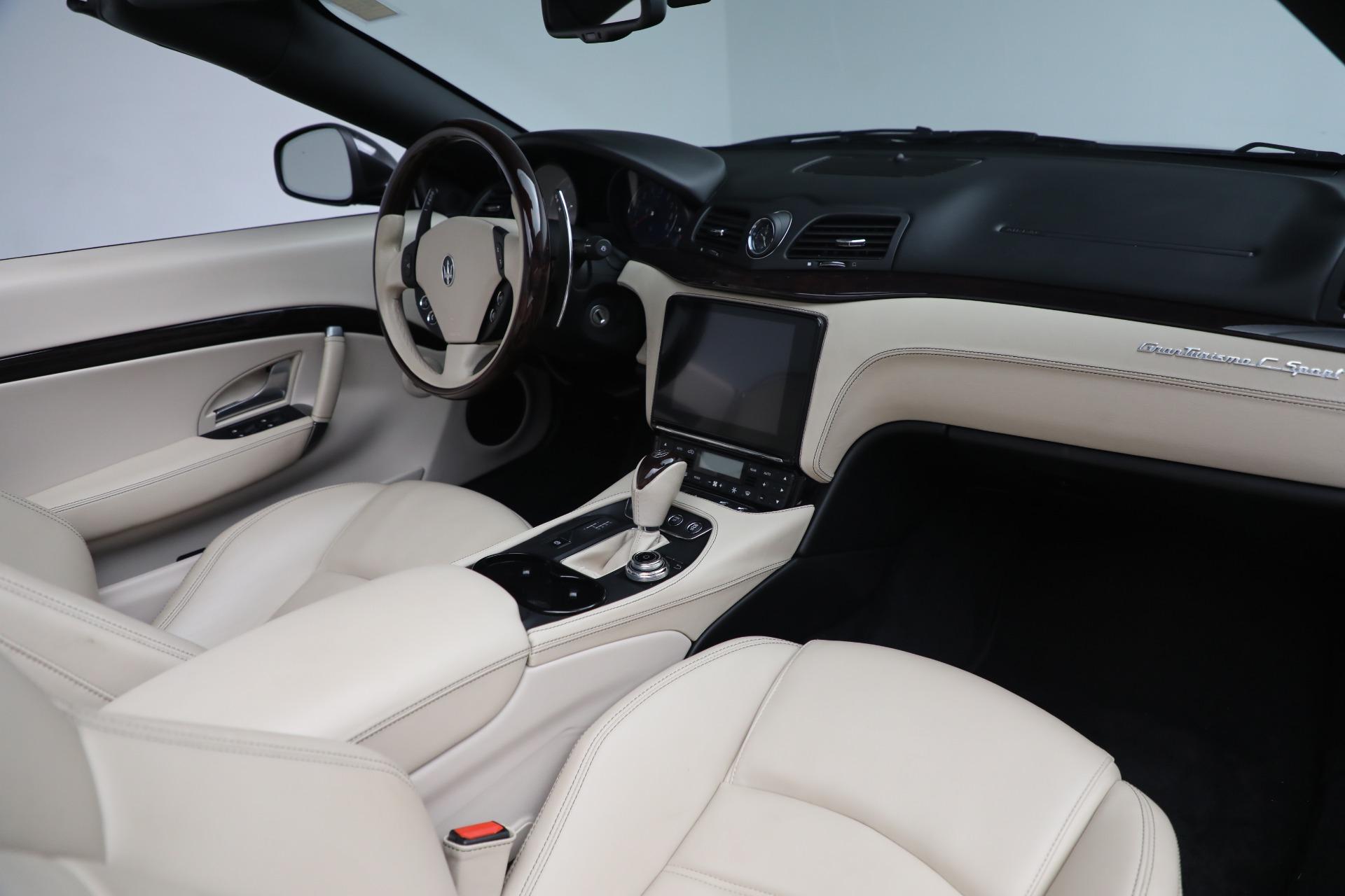New 2019 Maserati GranTurismo Sport Convertible