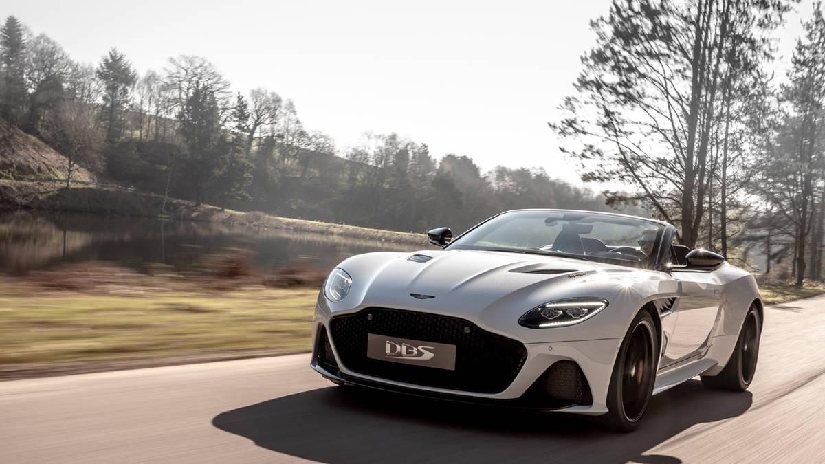 New 2020 Aston Martin DBS Convertible | Greenwich, CT