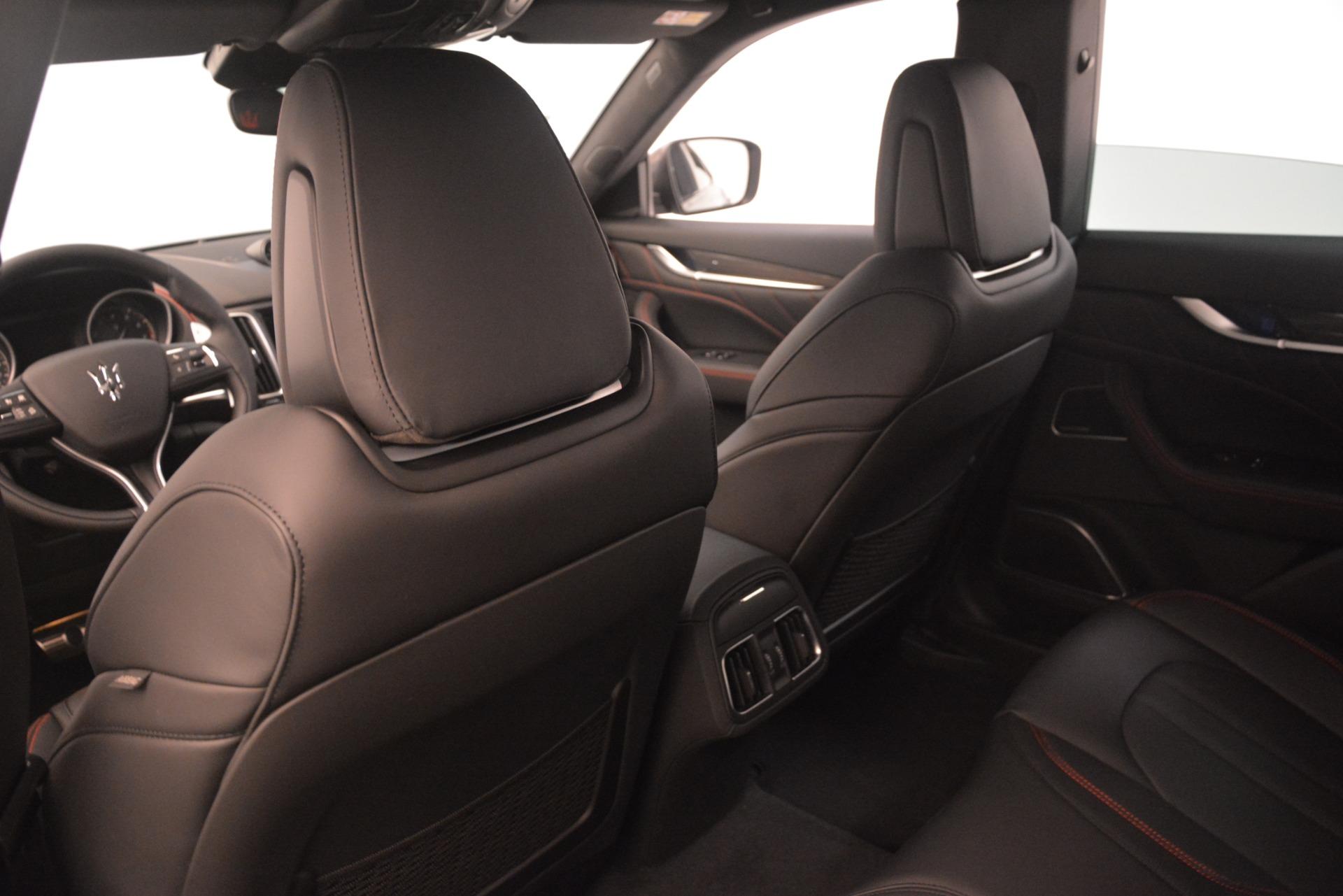 New 2019 Maserati Levante SQ4 GranSport Nerissimo