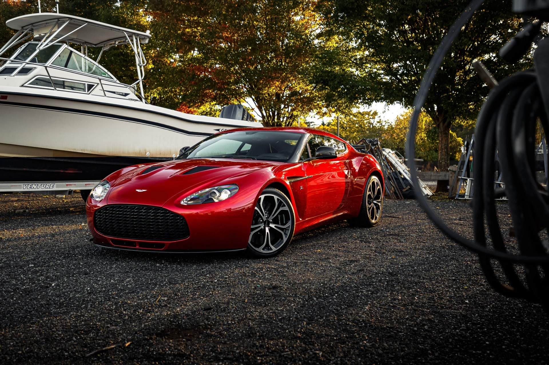 Used 2013 Aston Martin V12 Zagato Coupe