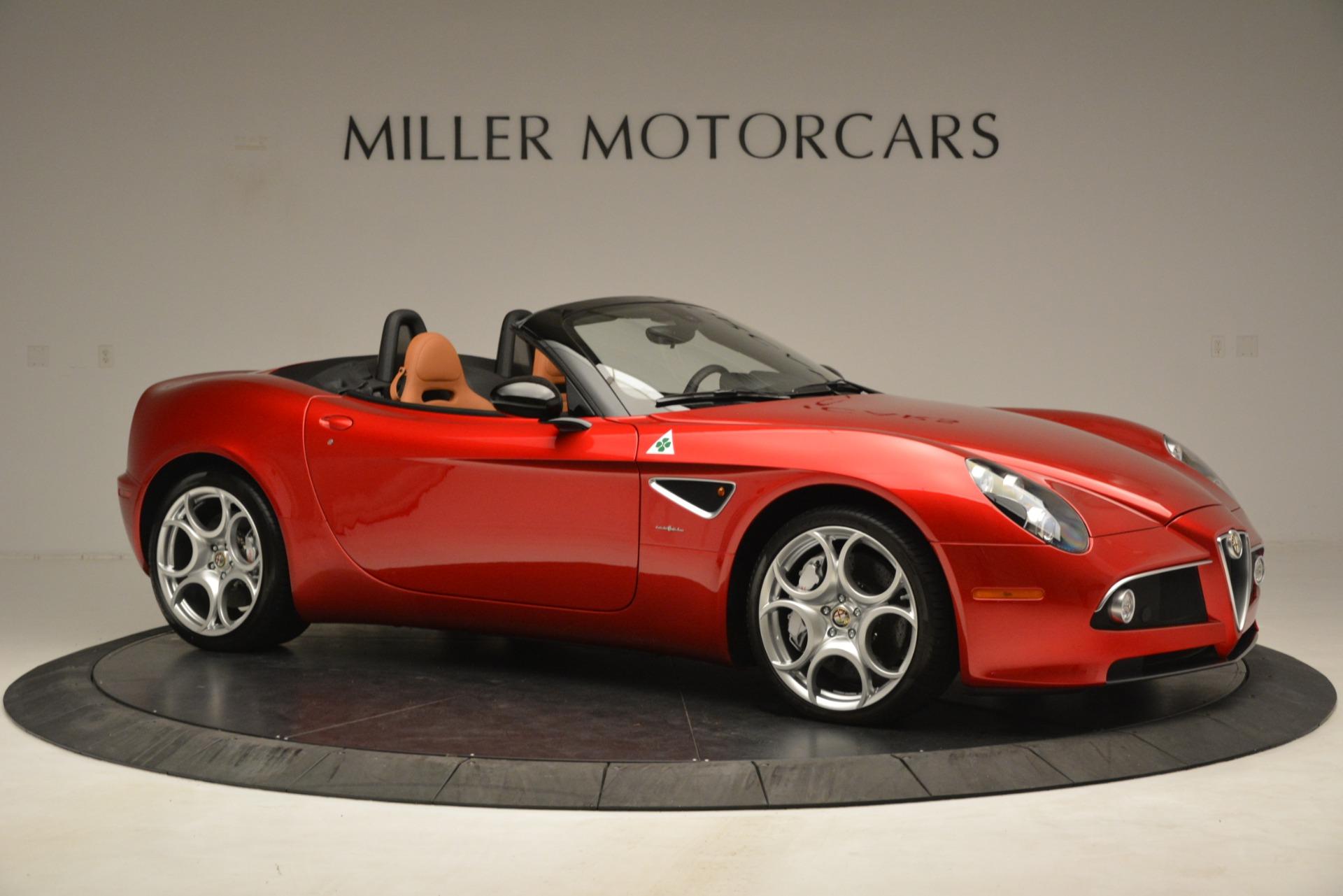 Used 2009 Alfa Romeo 8c Spider