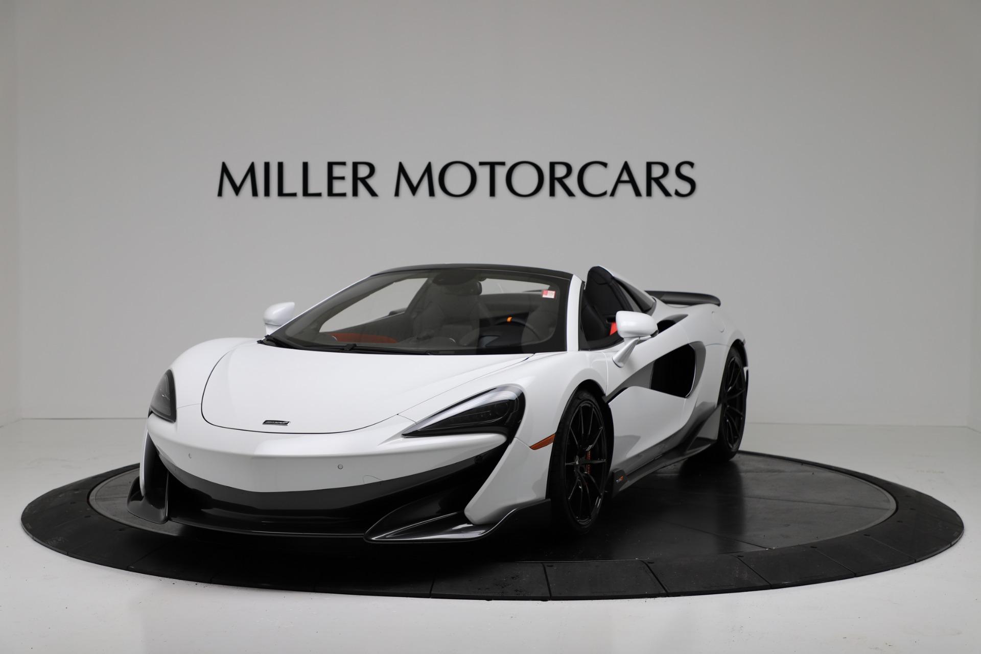 New 2020 McLaren 600LT Spider