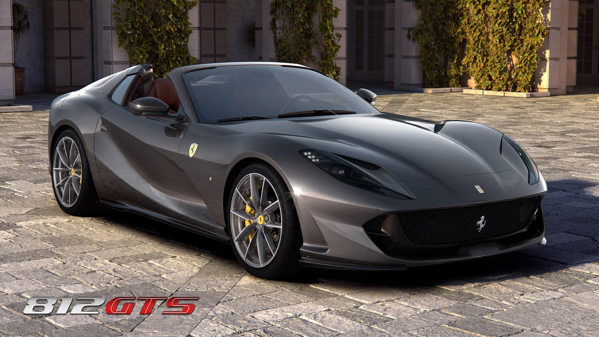 New 2021 Ferrari 812GTS