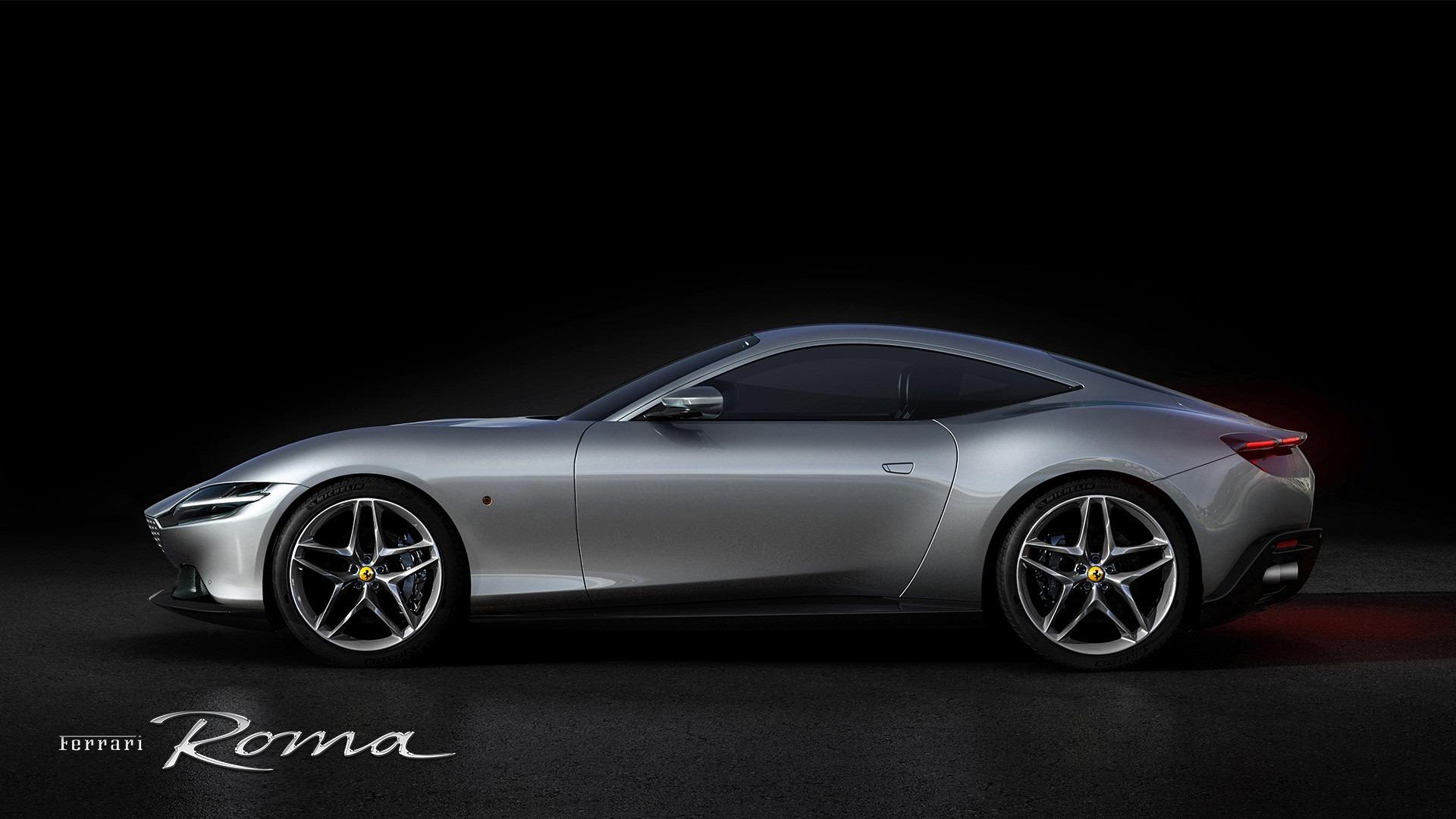 New 2021 Ferrari Roma