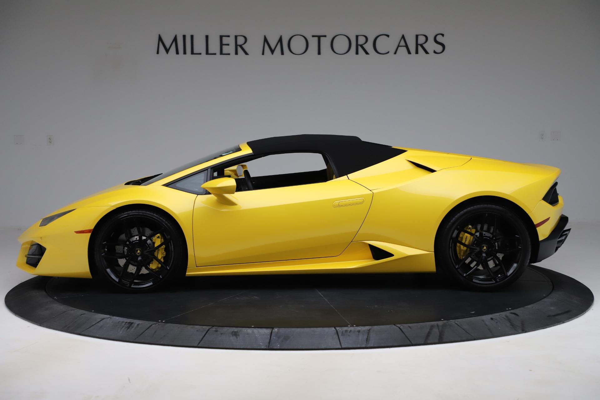 Used 2018 Lamborghini Huracan LP 580 2 Spyder