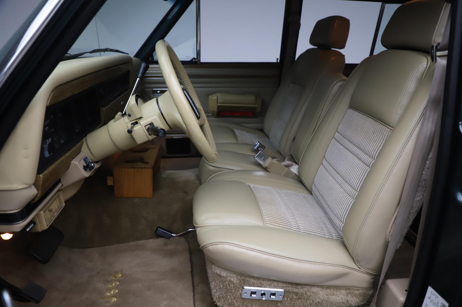 Used 1991 Jeep Grand Wagoneer