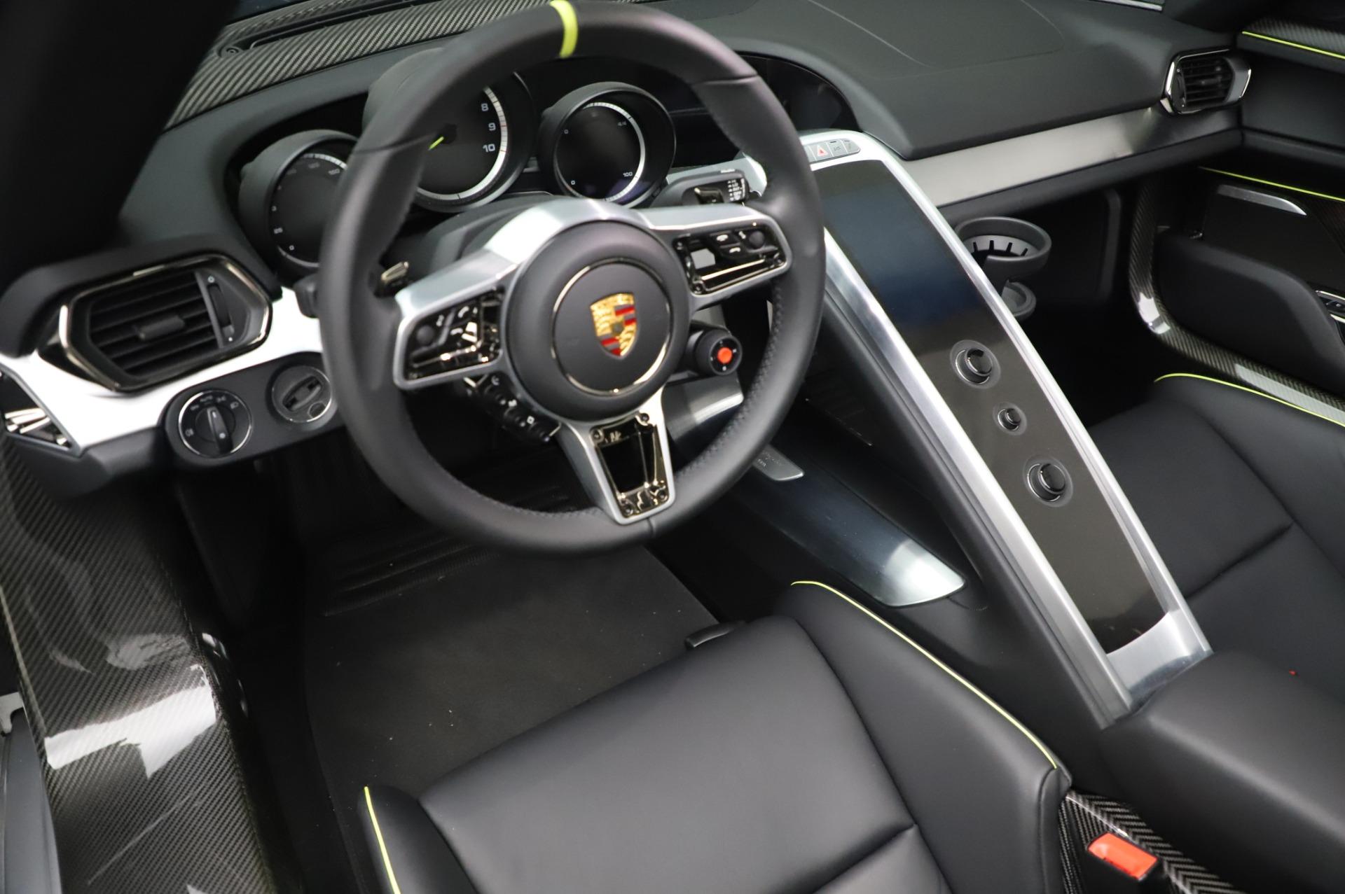 Used 2015 Porsche 918 Spyder