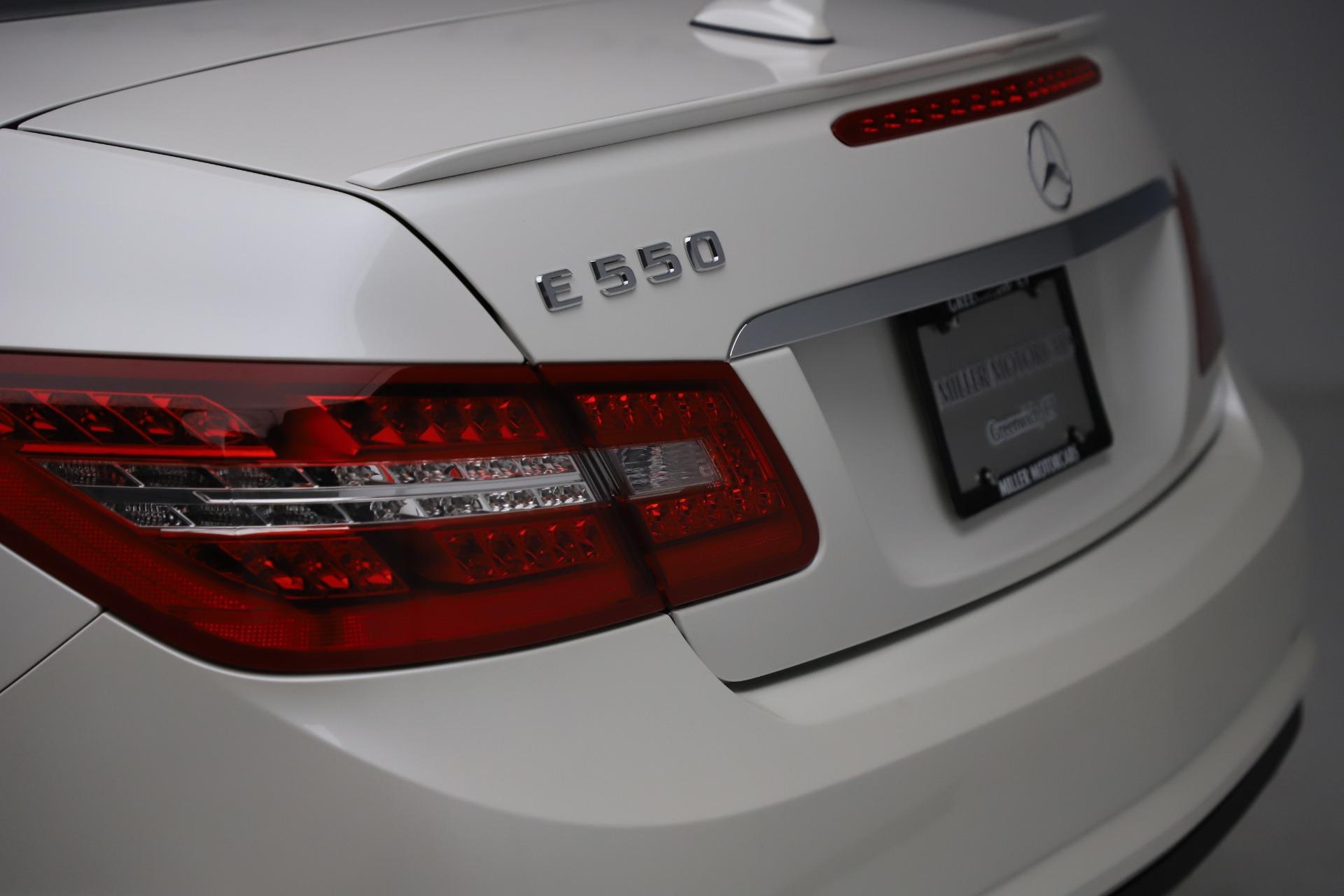 Used 2012 Mercedes Benz E Class E 550
