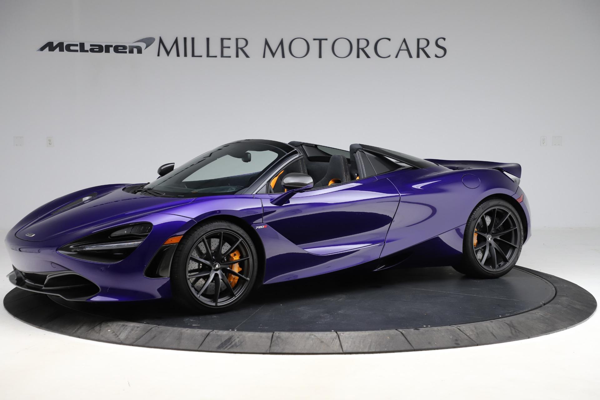 Used 2020 McLaren 720S Spider Performance | Greenwich, CT