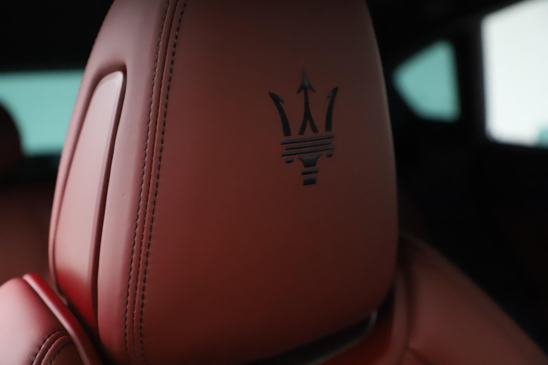 New 2021 Maserati Levante S Q4 GranSport