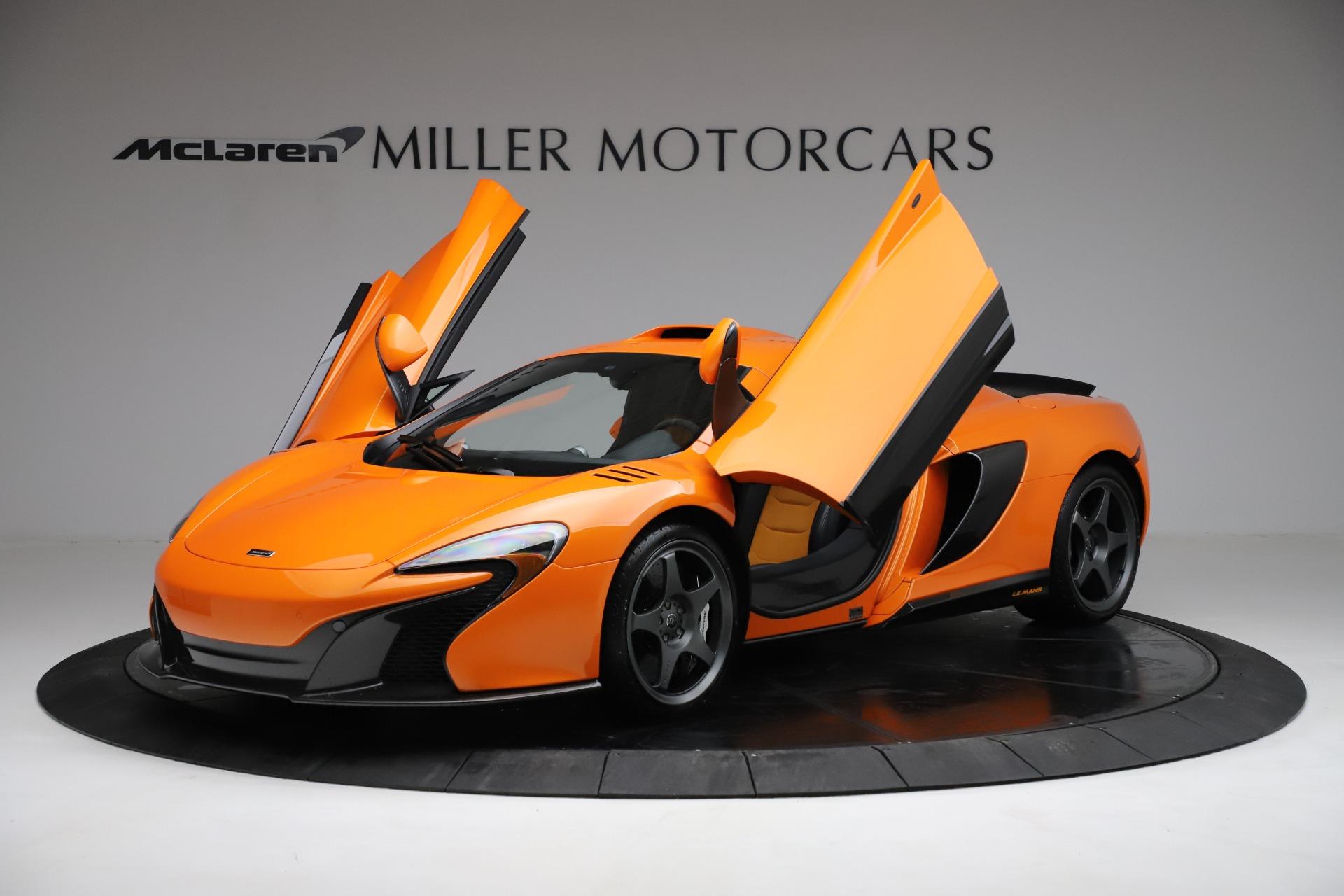 Used 2015 McLaren 650S LeMans
