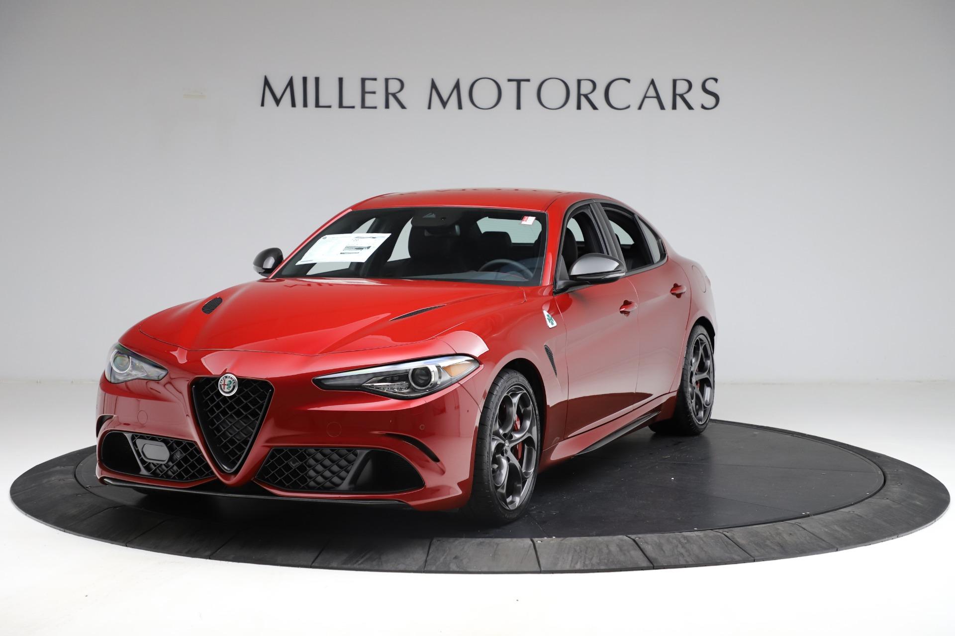 New 2021 Alfa Romeo Giulia Quadrifoglio  | Greenwich, CT