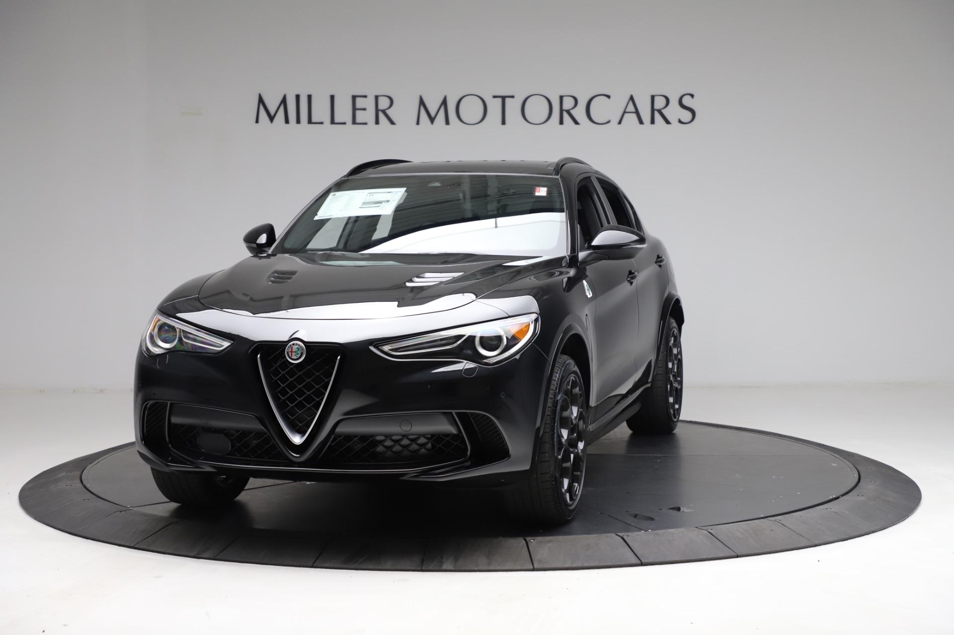 New 2021 Alfa Romeo Stelvio Quadrifoglio  | Greenwich, CT