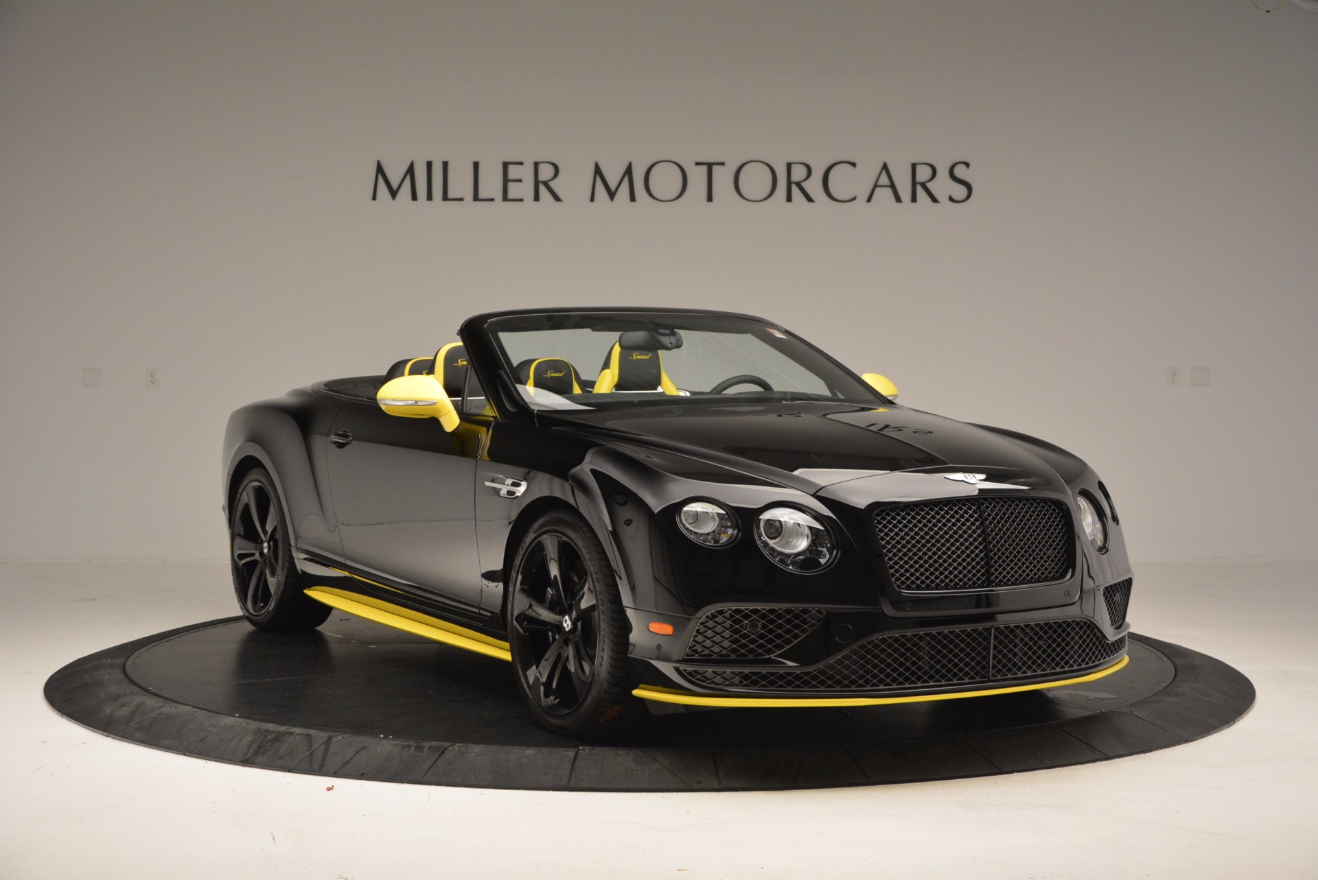New 2017 Bentley Continental GT Speed Black Edition Convertible
