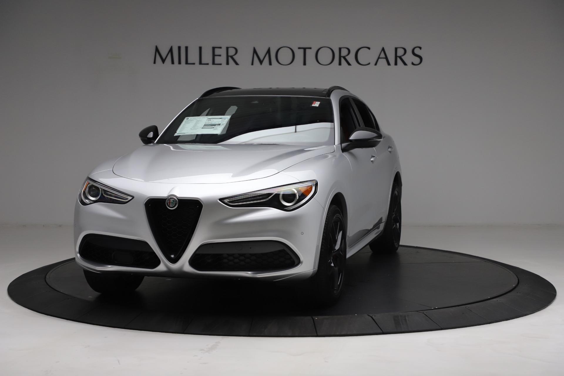 New 2021 Alfa Romeo Stelvio Ti Sport Q4   Greenwich, CT