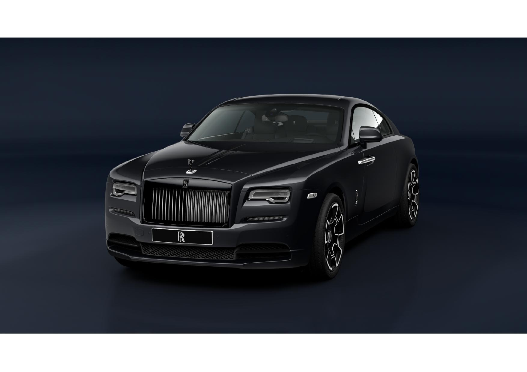 New 2021 Rolls Royce Wraith Black Badge
