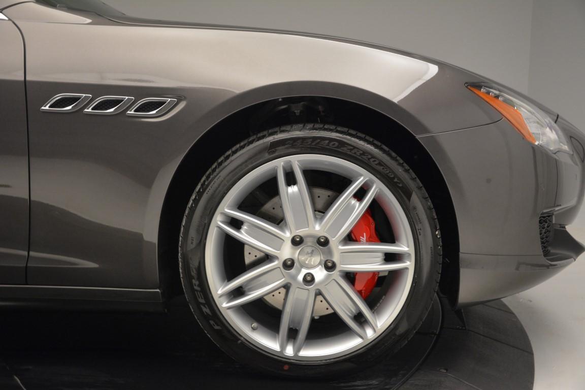 New 2016 Maserati Quattroporte S Q4