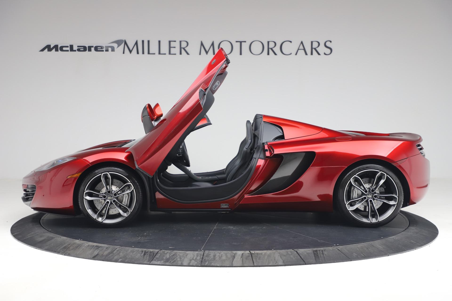 Used 2013 McLaren MP4 12C Spider