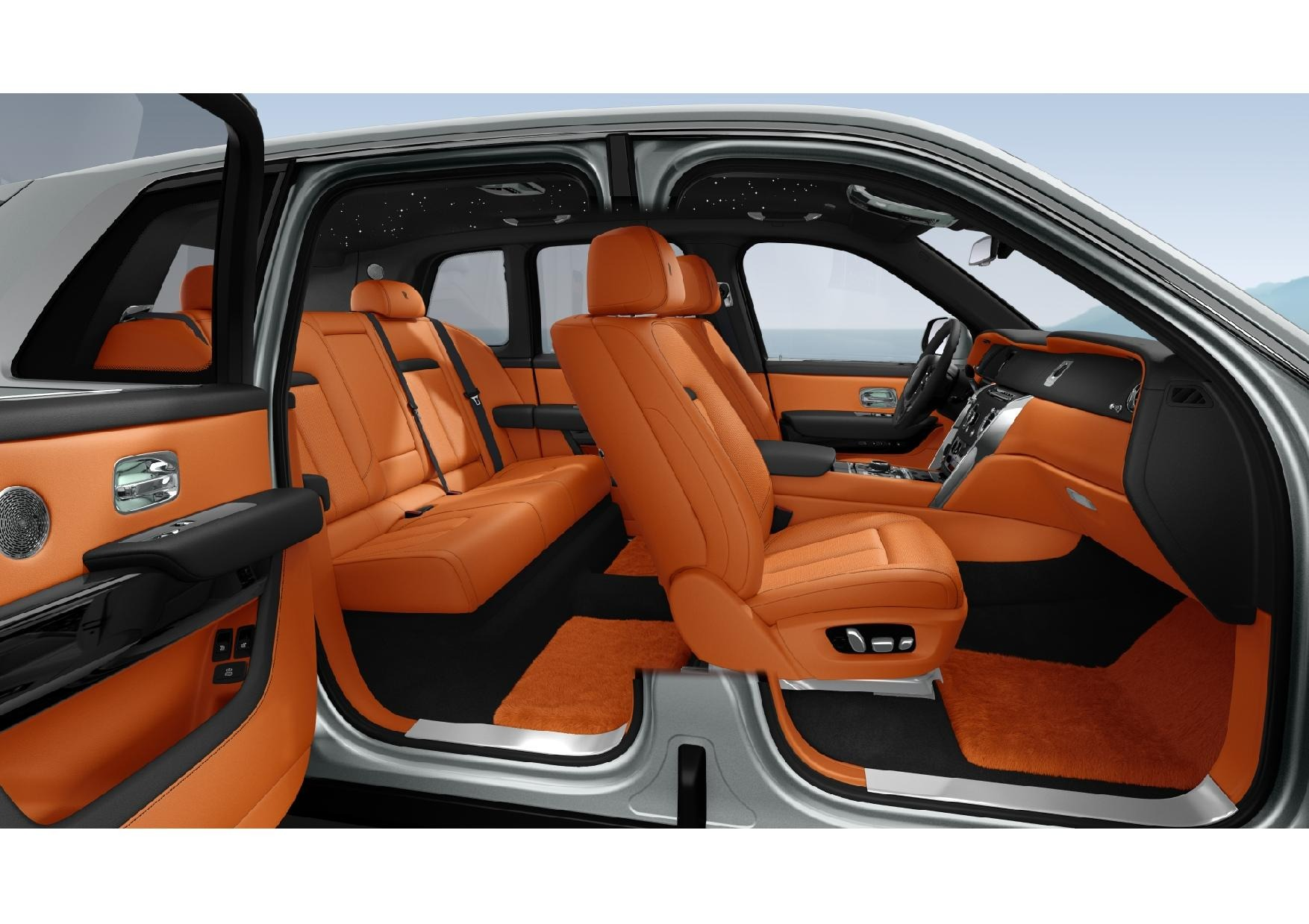 New 2022 Rolls Royce Cullinan