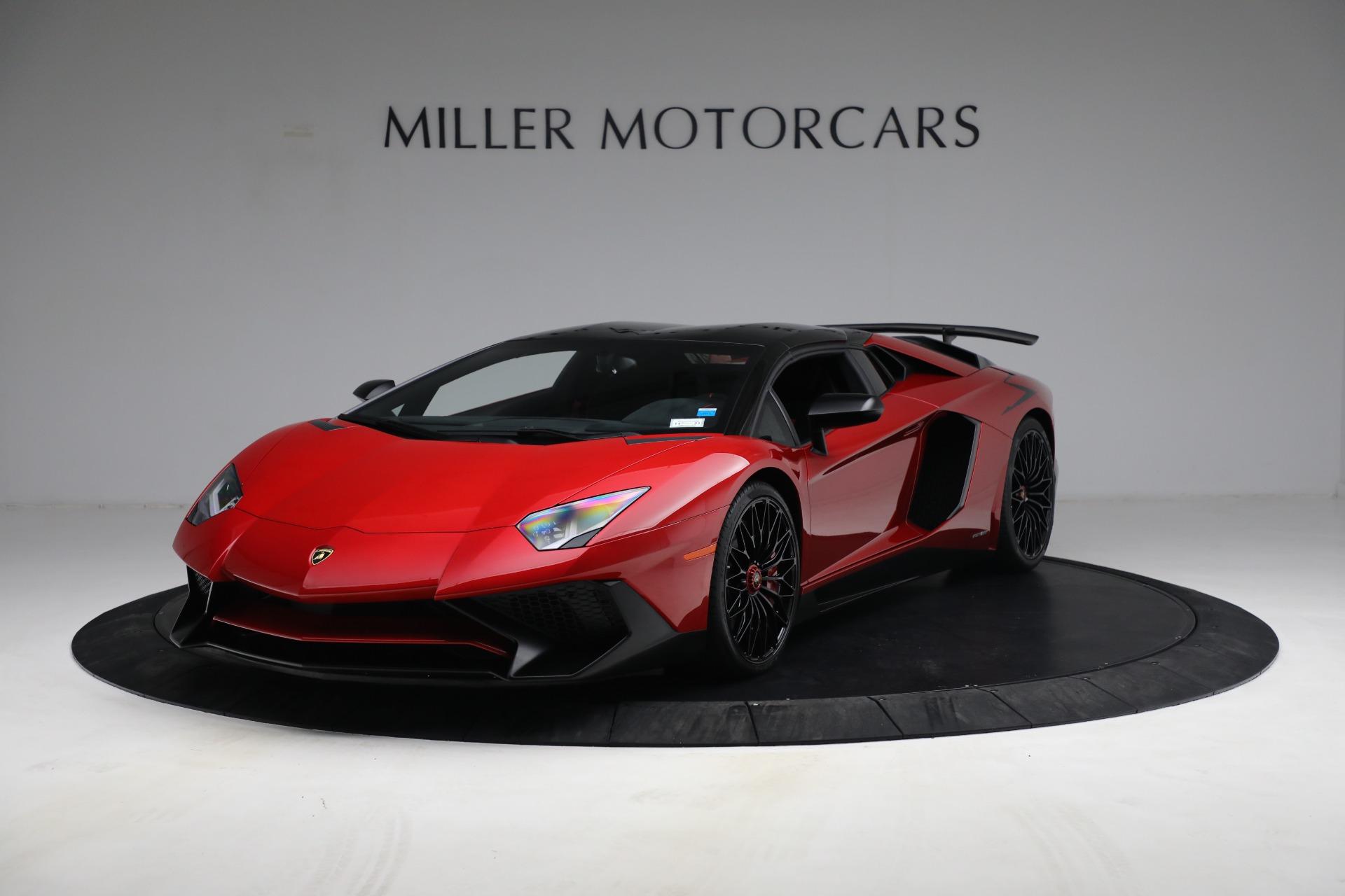 Used 2017 Lamborghini Aventador LP 750 4 SV