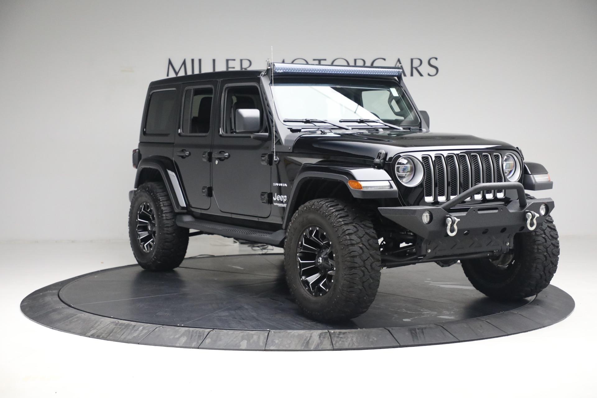 Used 2020 Jeep Wrangler Unlimited Sahara