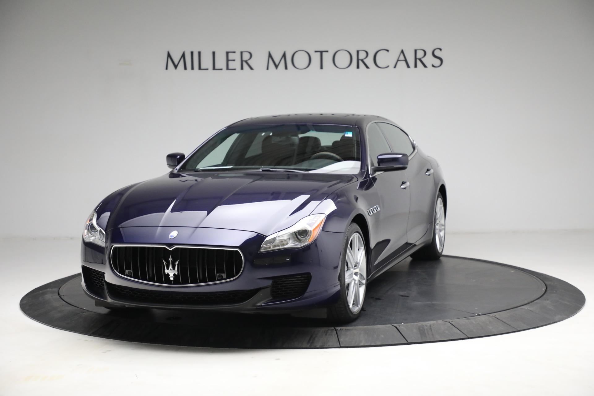 Used 2014 Maserati Quattroporte S Q4   Greenwich, CT