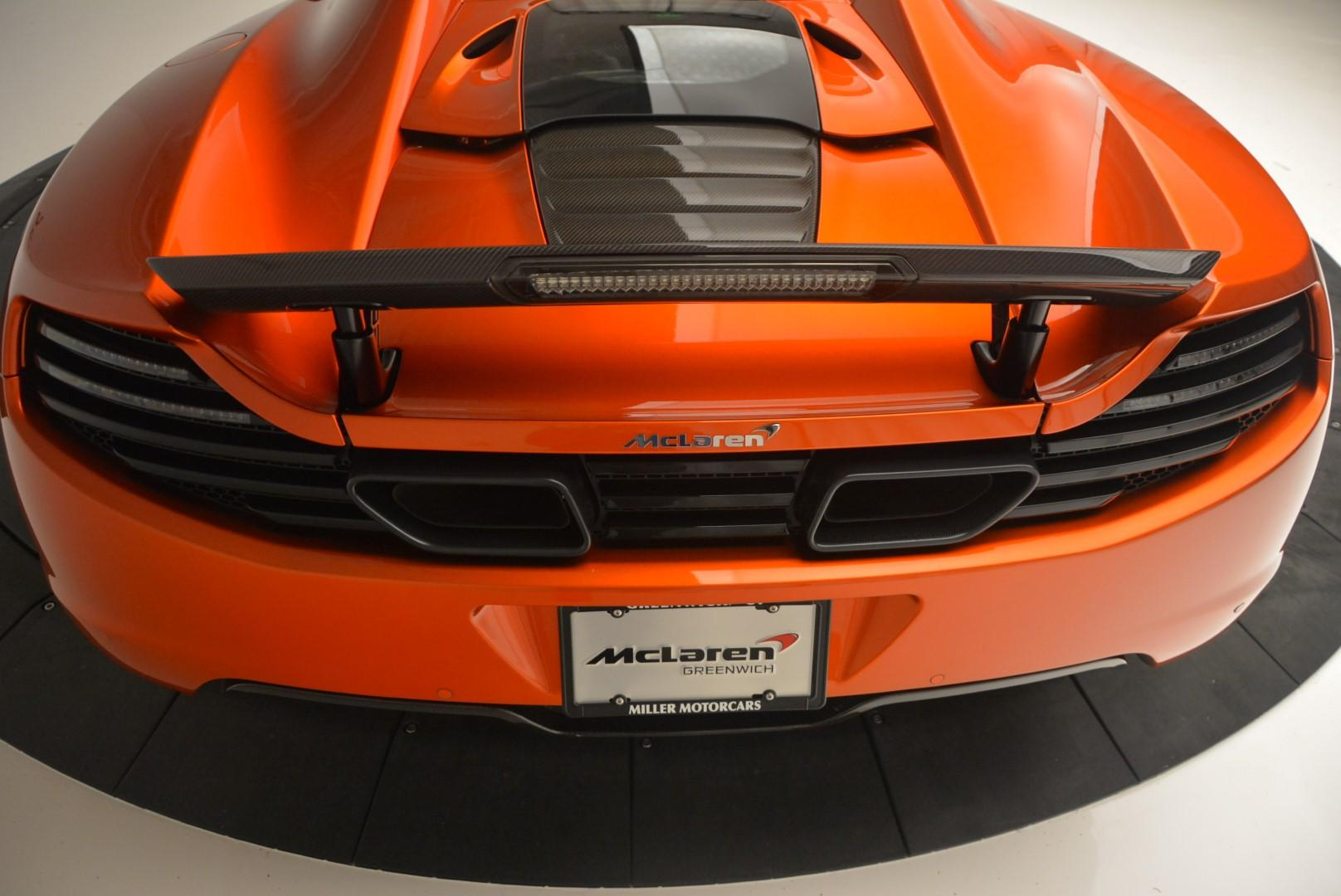 Used 2013 McLaren MP4 12C Base