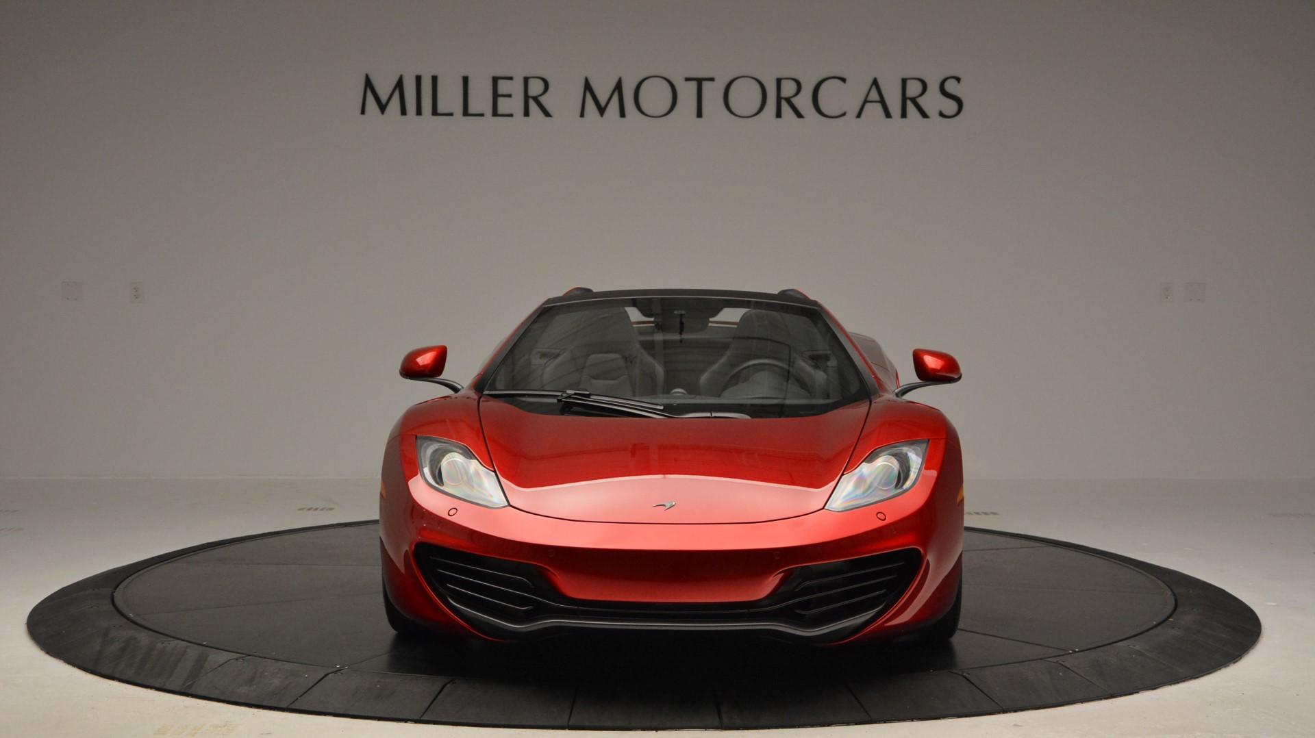 Used 2013 McLaren 12C Spider