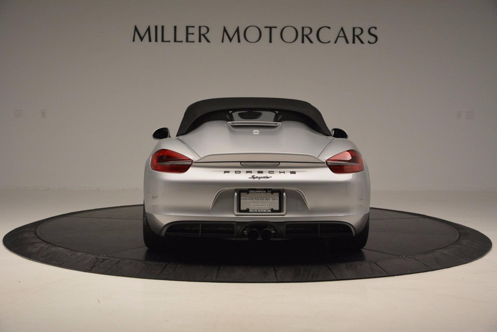 Used 2016 Porsche Boxster Spyder