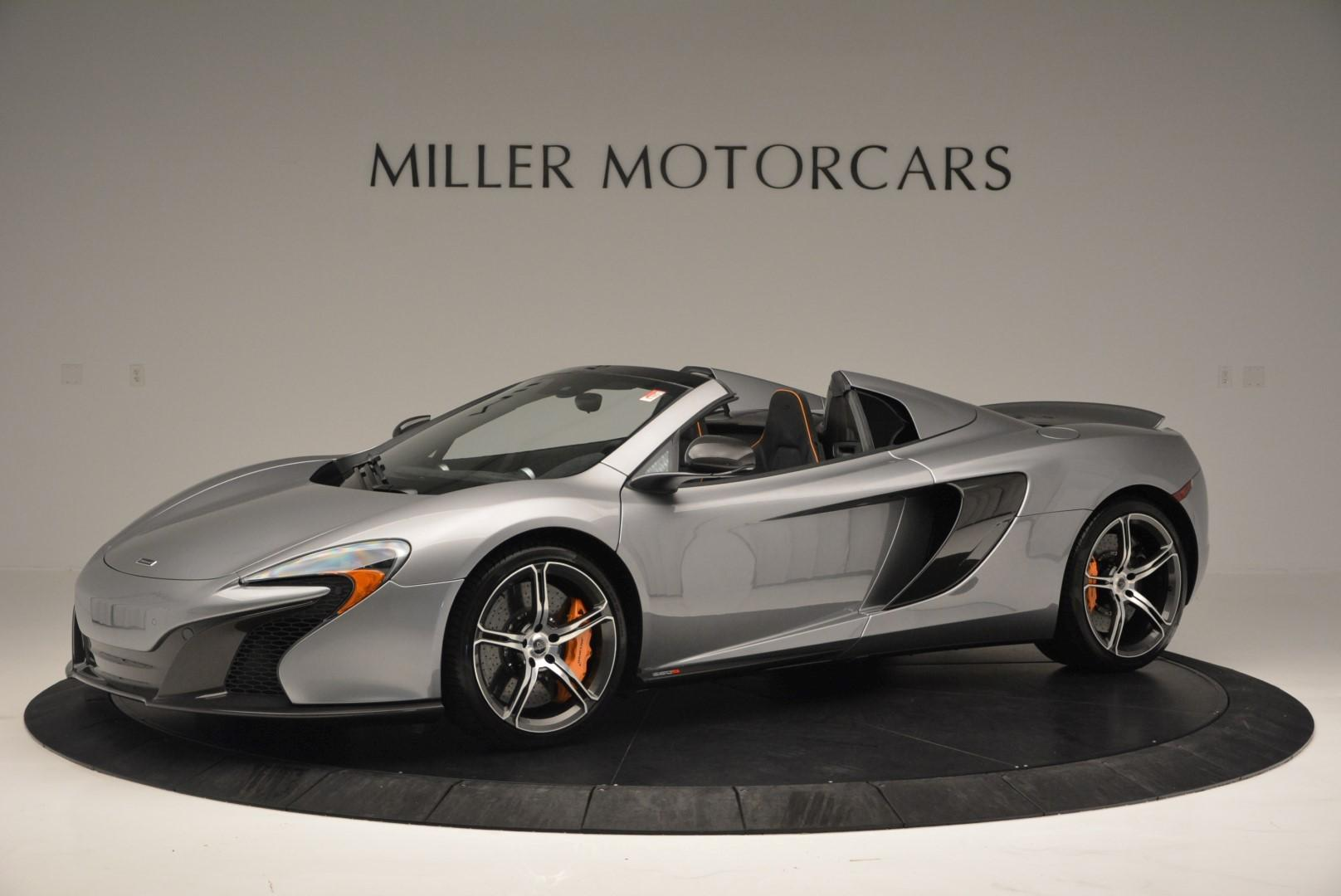 Used 2016 McLaren 650S SPIDER Convertible