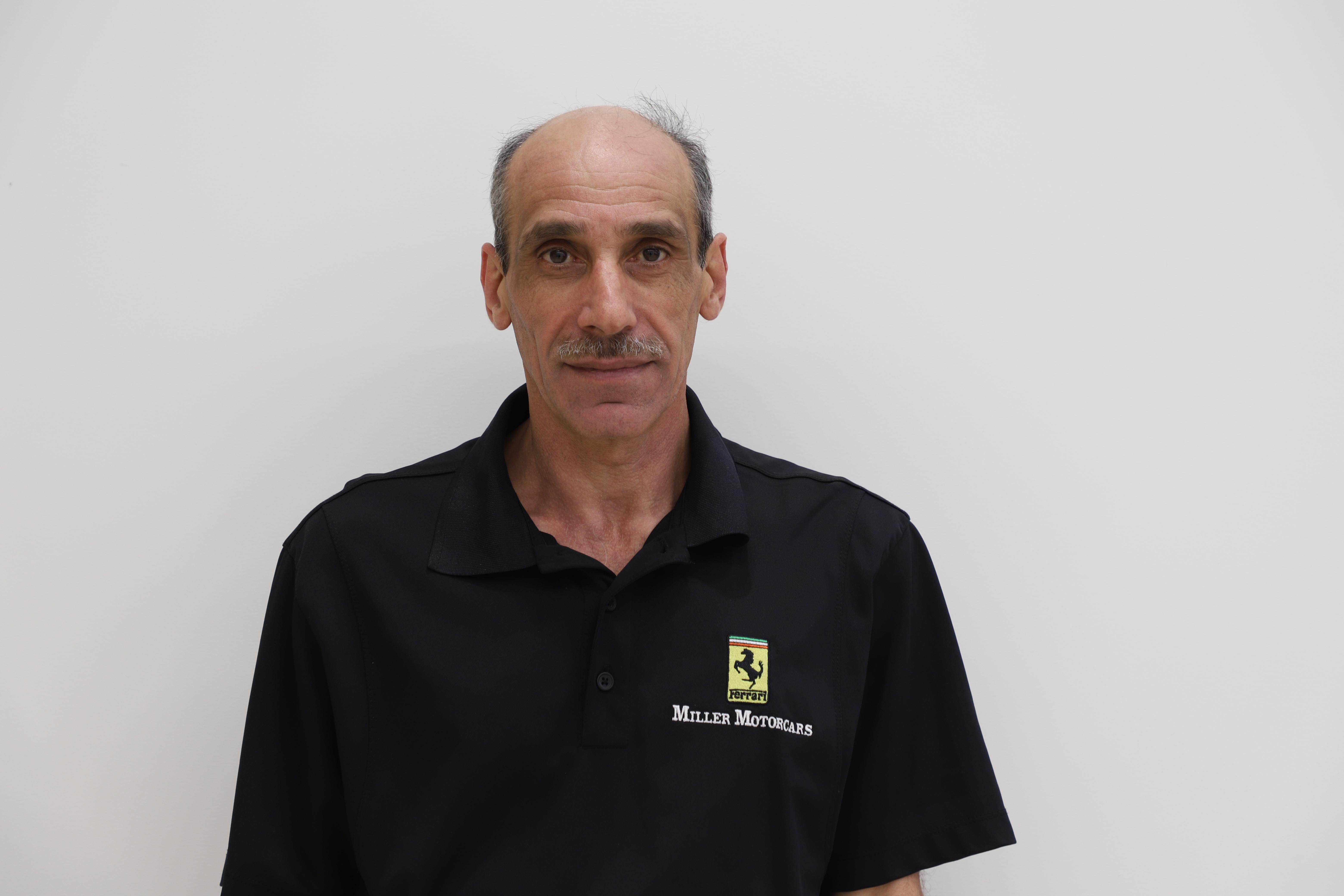 Diego Oliveri - Ferrari Technician