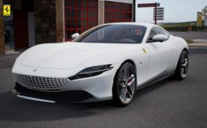 Bianco Cervino / Rosso Ferrari
